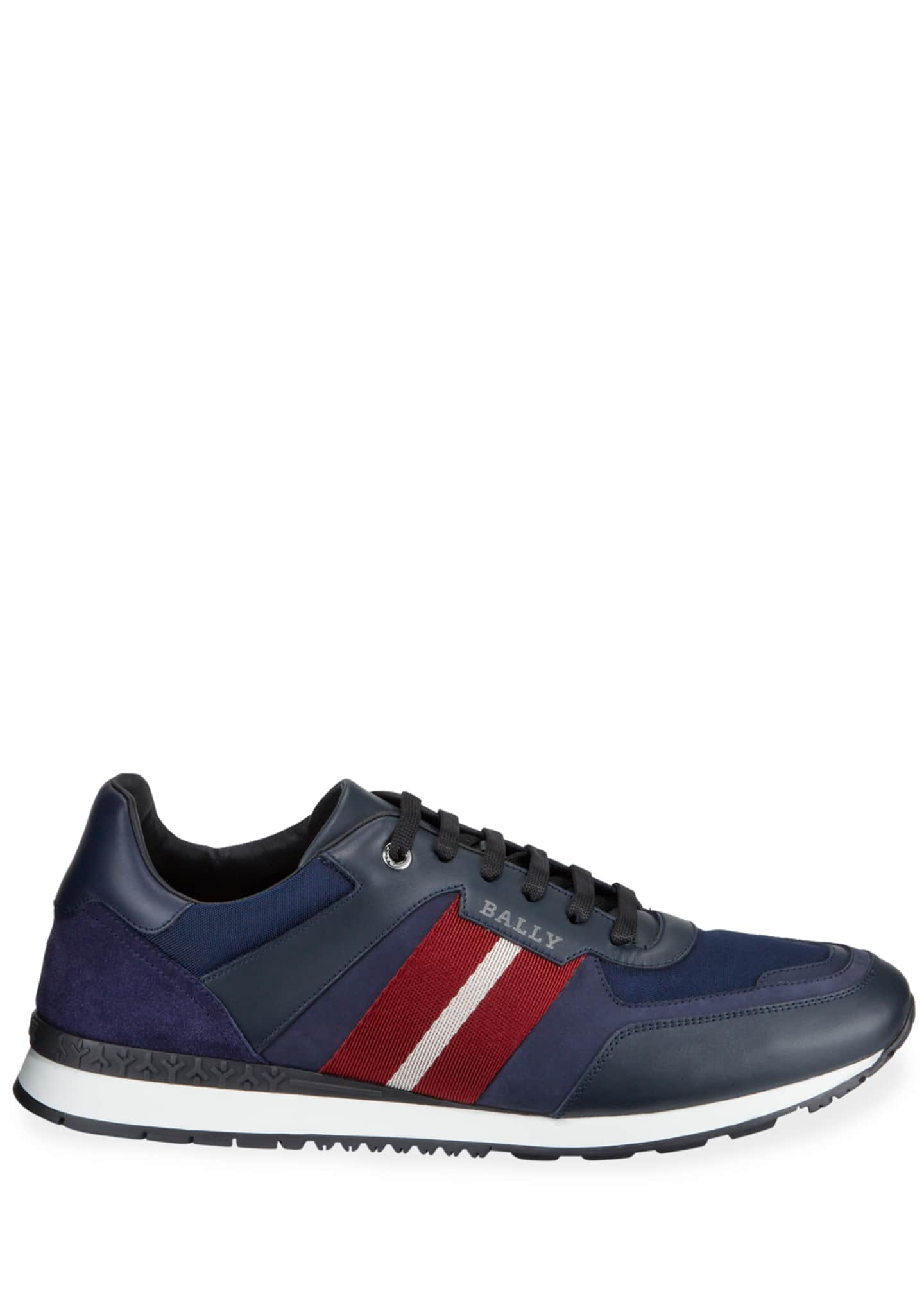 Image 3 of 3: Men's Aseo Multicolor Trainspotting-Stripe Sneakers