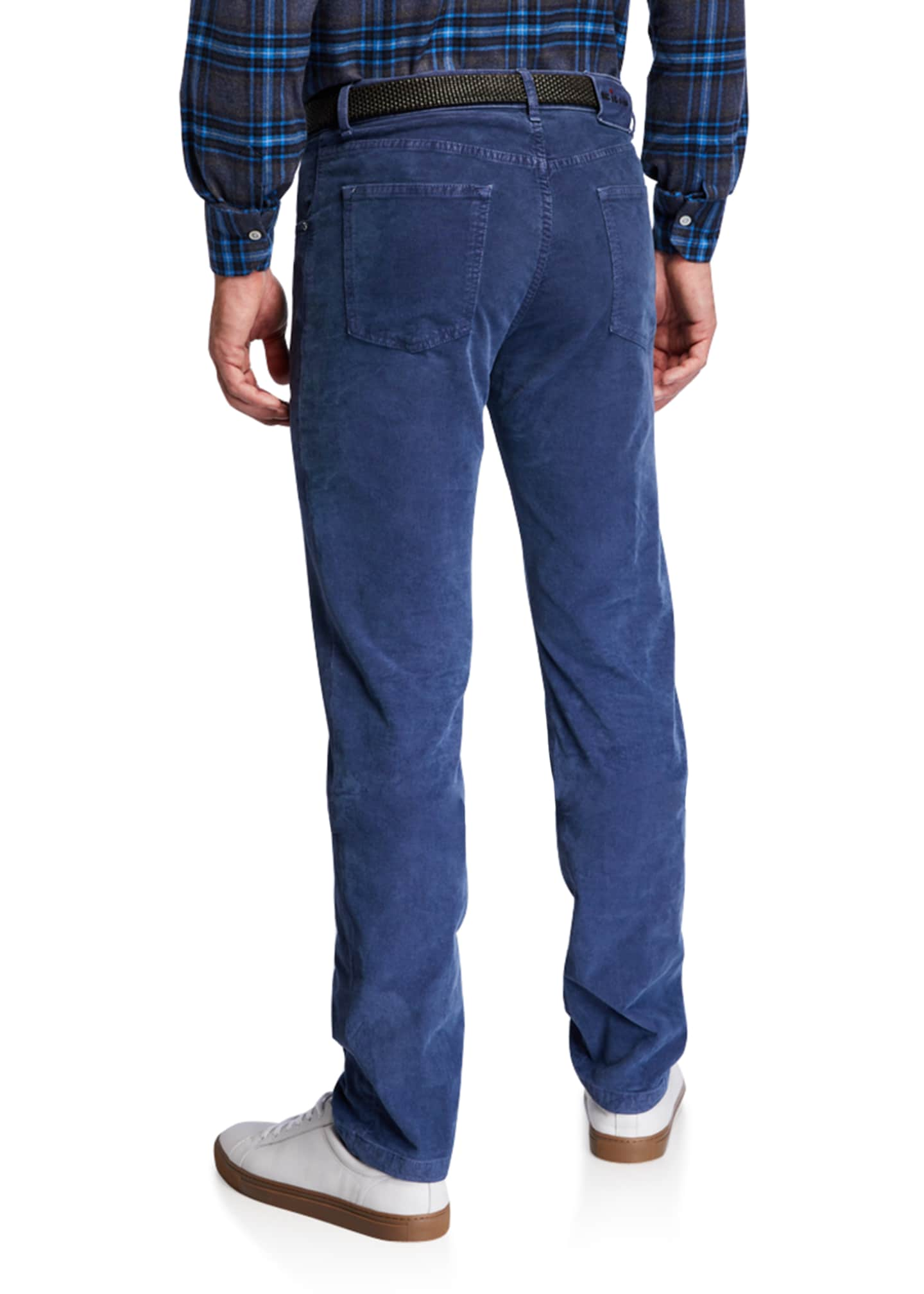 Image 2 of 3: Men's Straight-Leg Corduroy 5-Pocket Pants