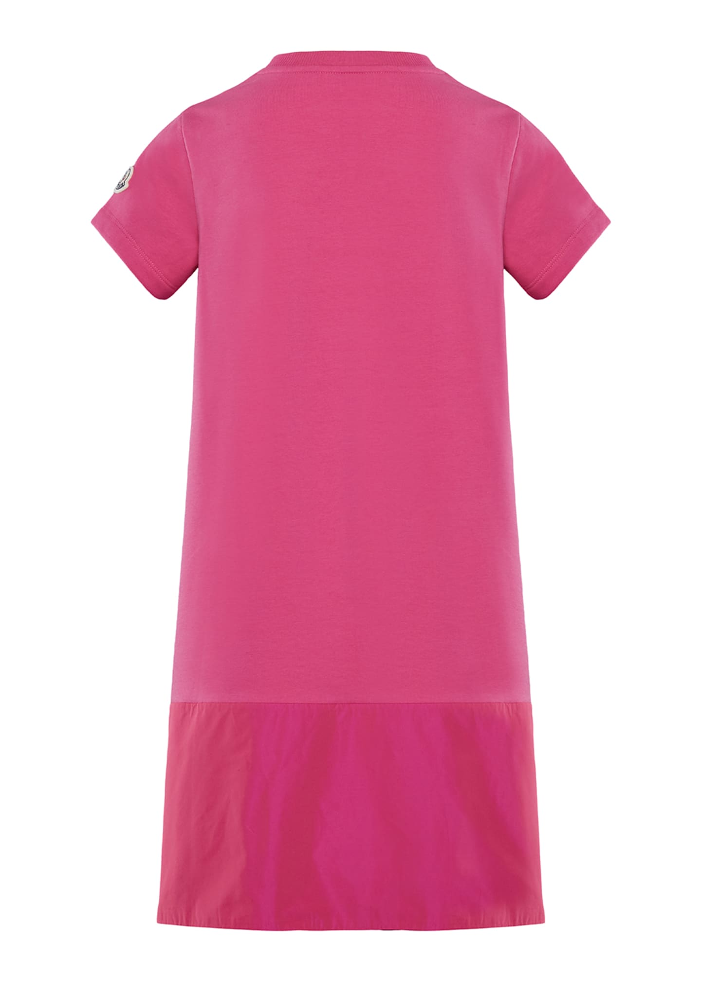Image 2 of 2: Short-Sleeve A-Line Dress w/ Side Logo Embroidery, Size 8-14