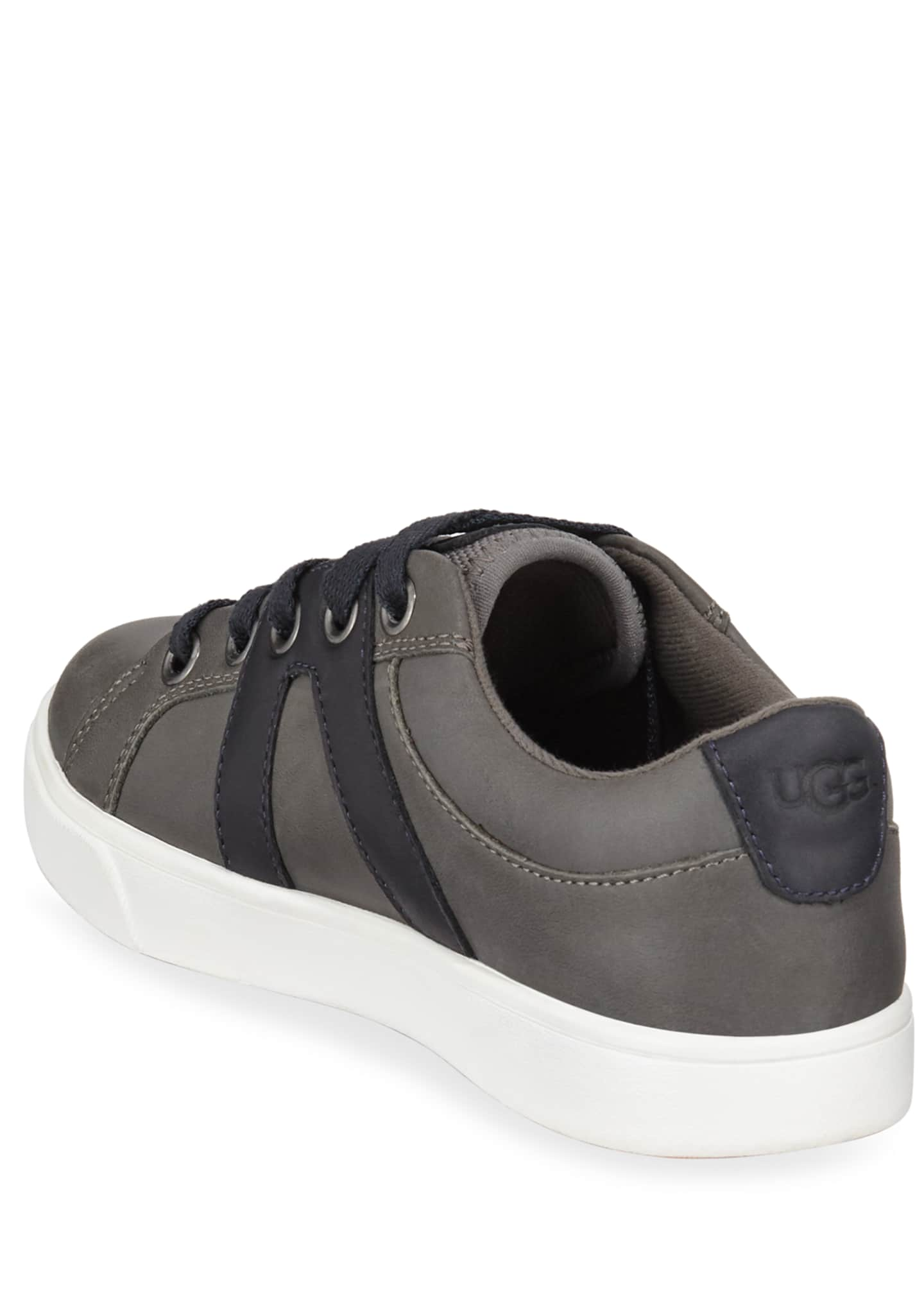 Image 4 of 4: Marcus Leather Sneakers, Toddler/Kids