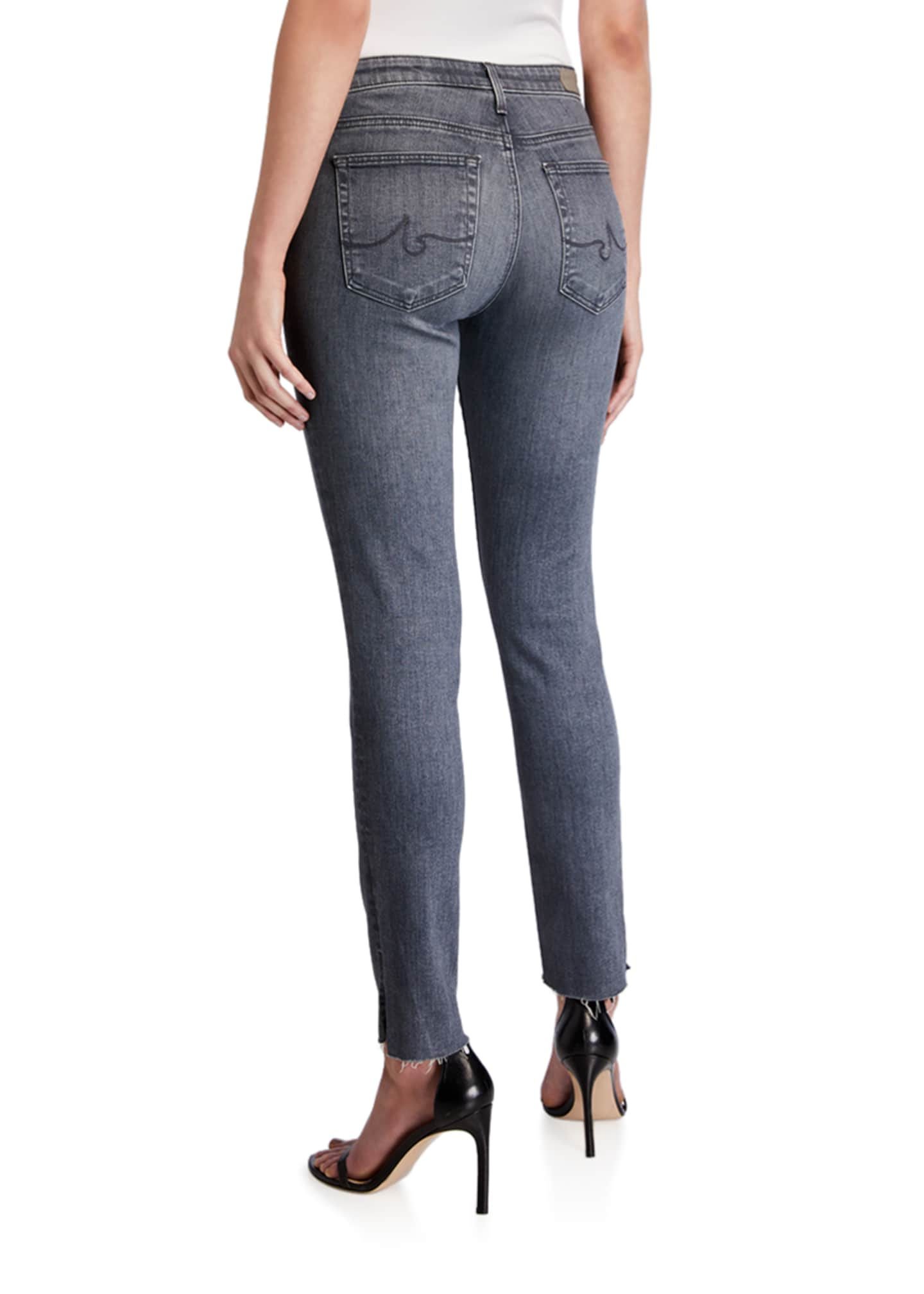 Image 2 of 3: Prima Mid-Rise Straight-Leg Ankle Jeans