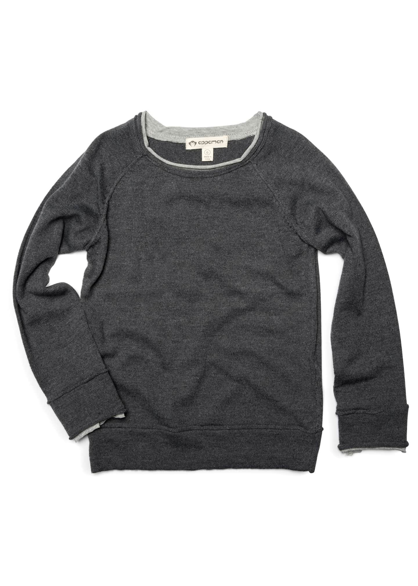 Appaman Jackson Roll Neck Raglan Shirt, Size 2-10