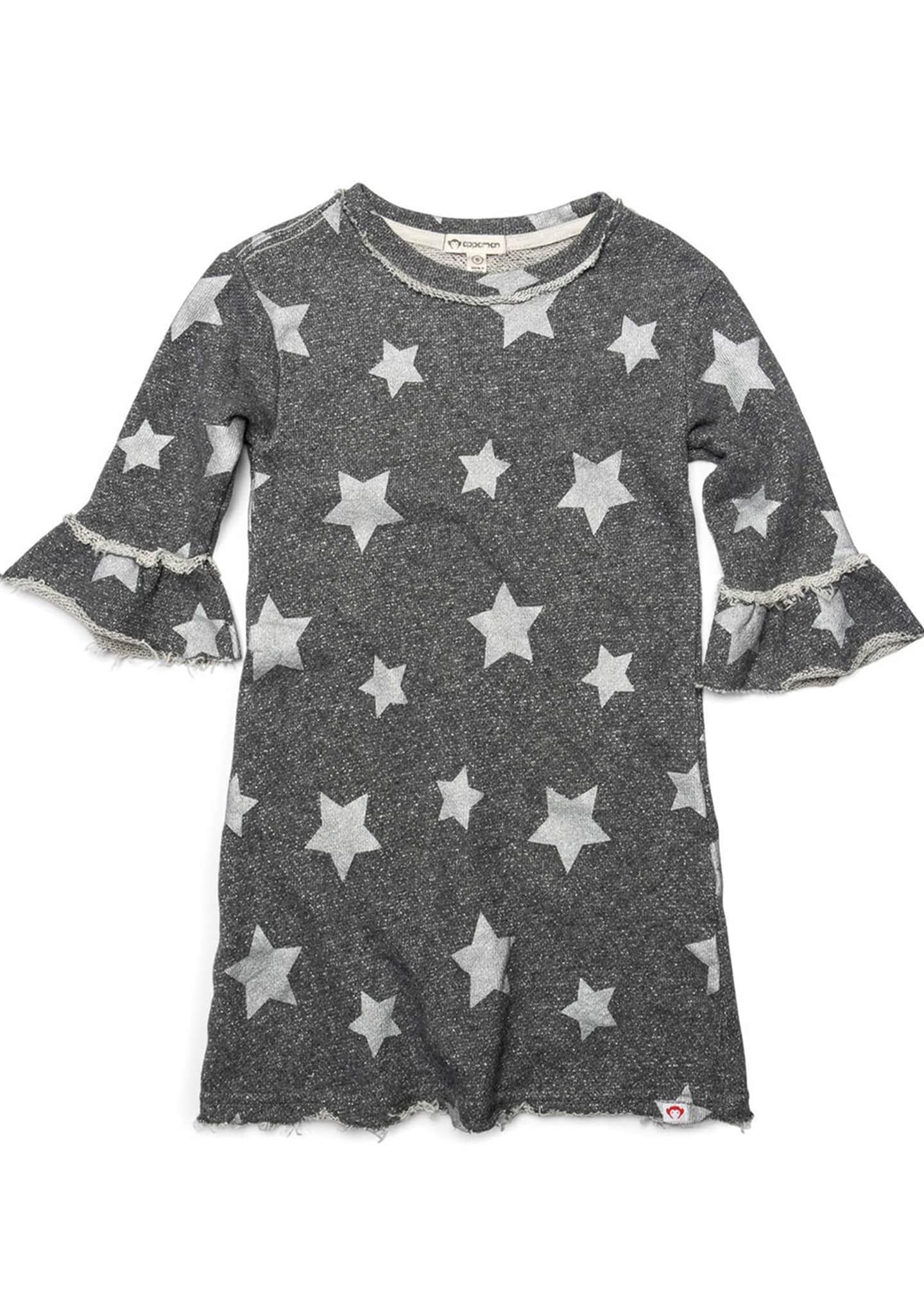 Appaman Kathleen Metallic Star Print Dress, Size 2-14
