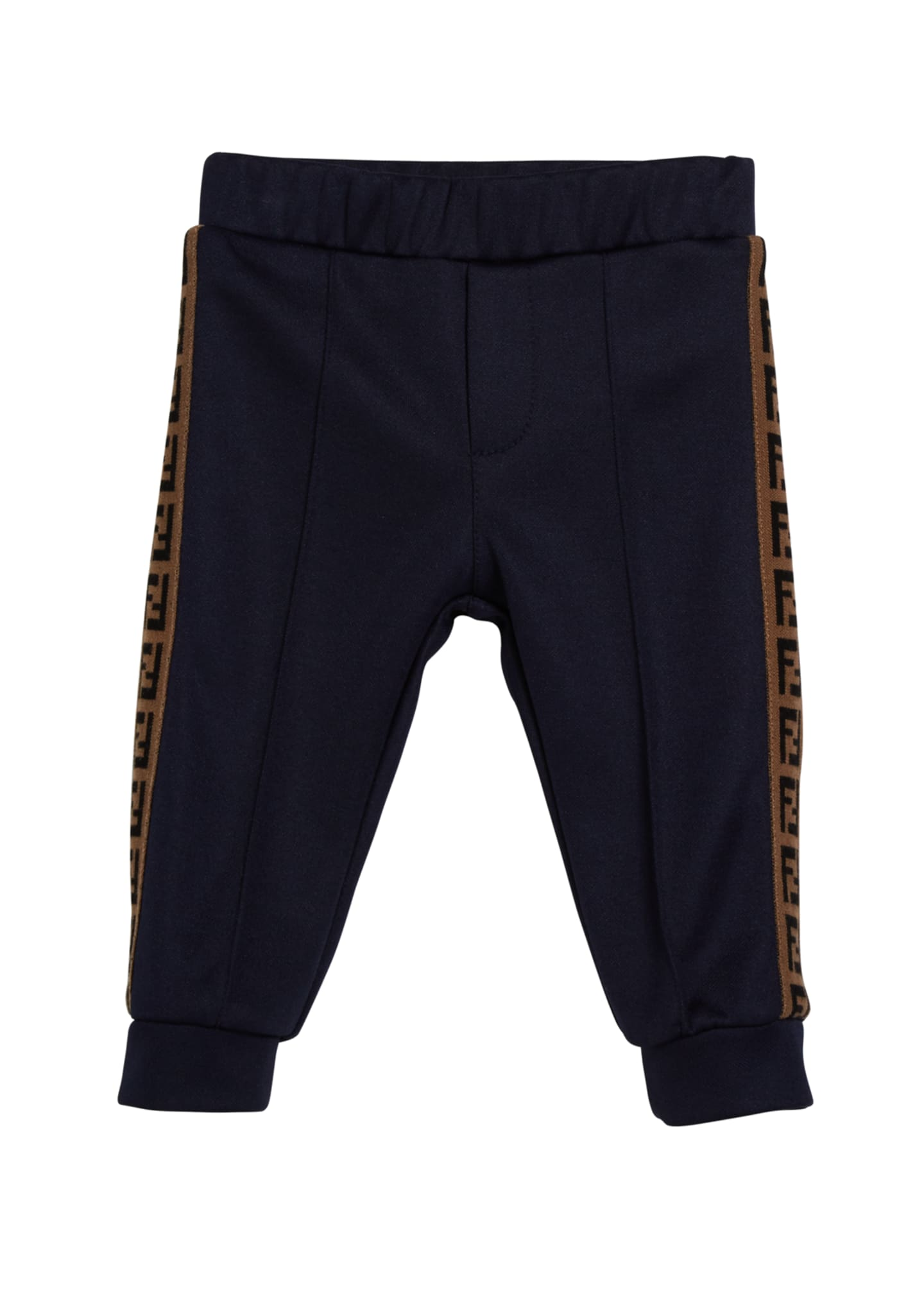Fendi Boy's Track Pants w/ FF Taping, Size
