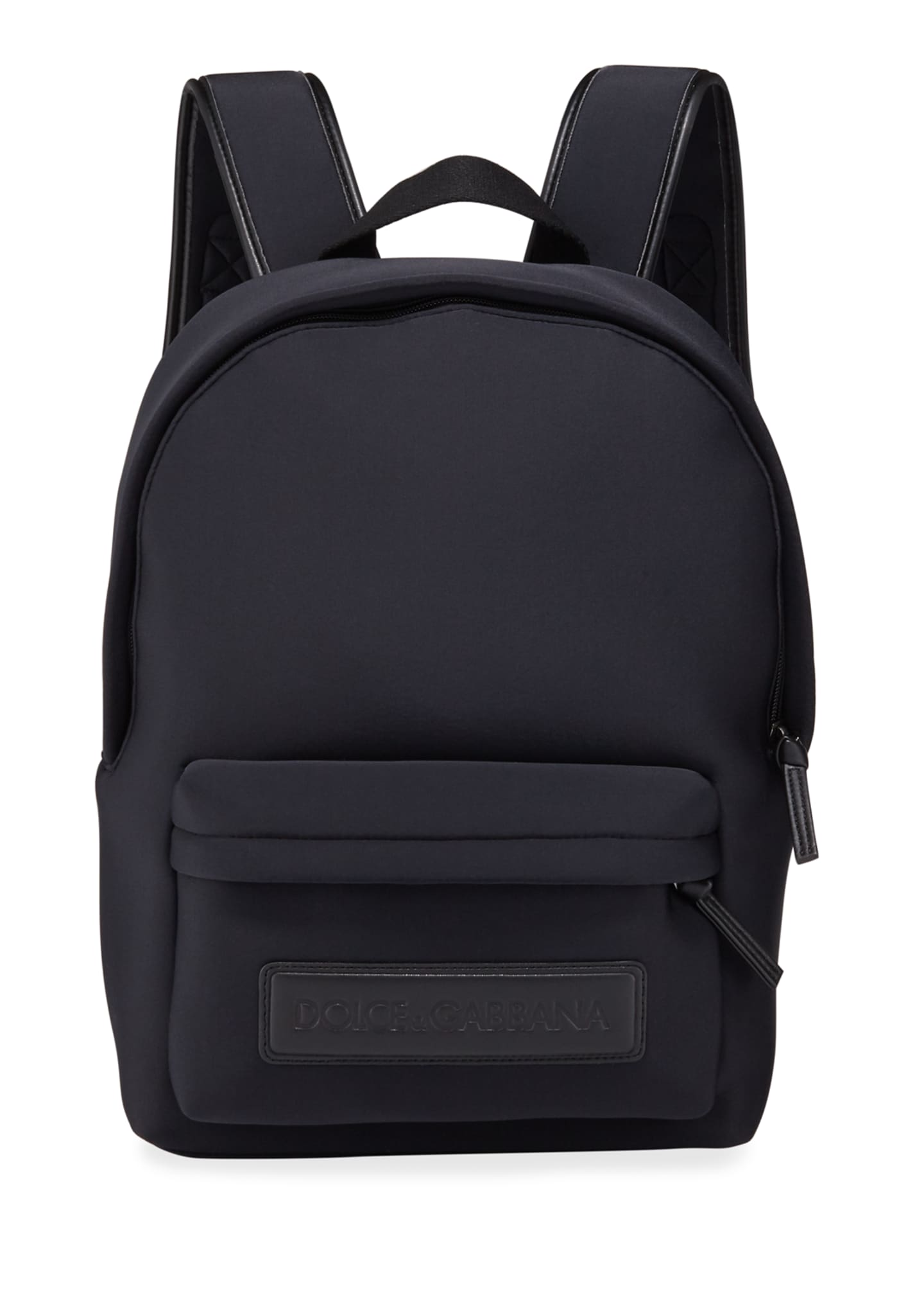 Dolce & Gabbana Kid's Neoprene Backpack w/ Leather