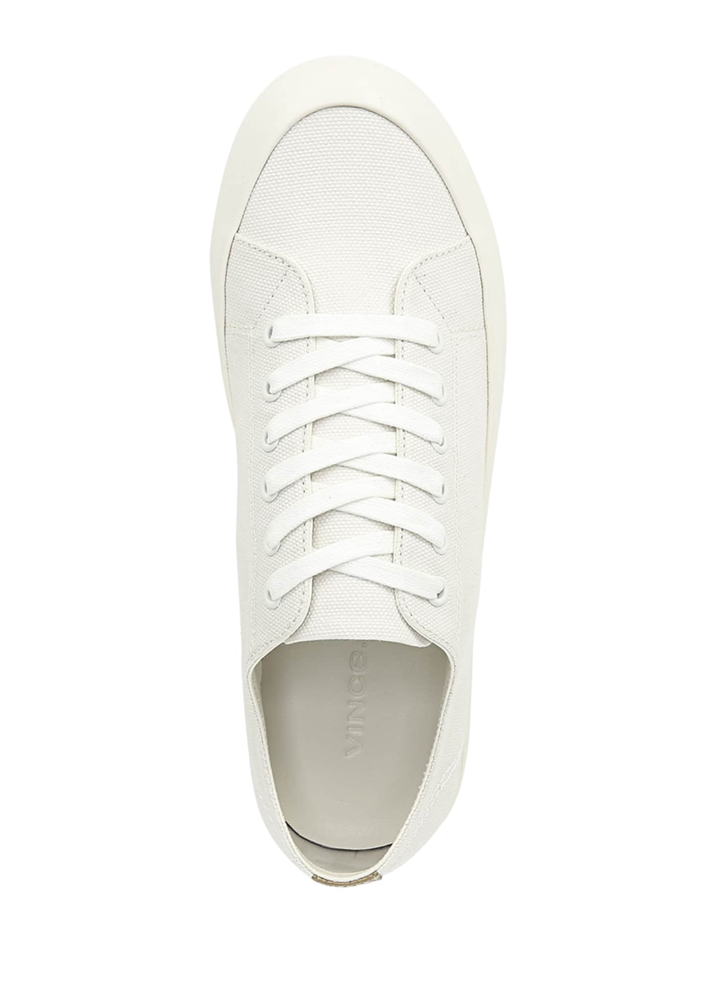 Image 3 of 5: Norwell Canvas Platform Sneakers