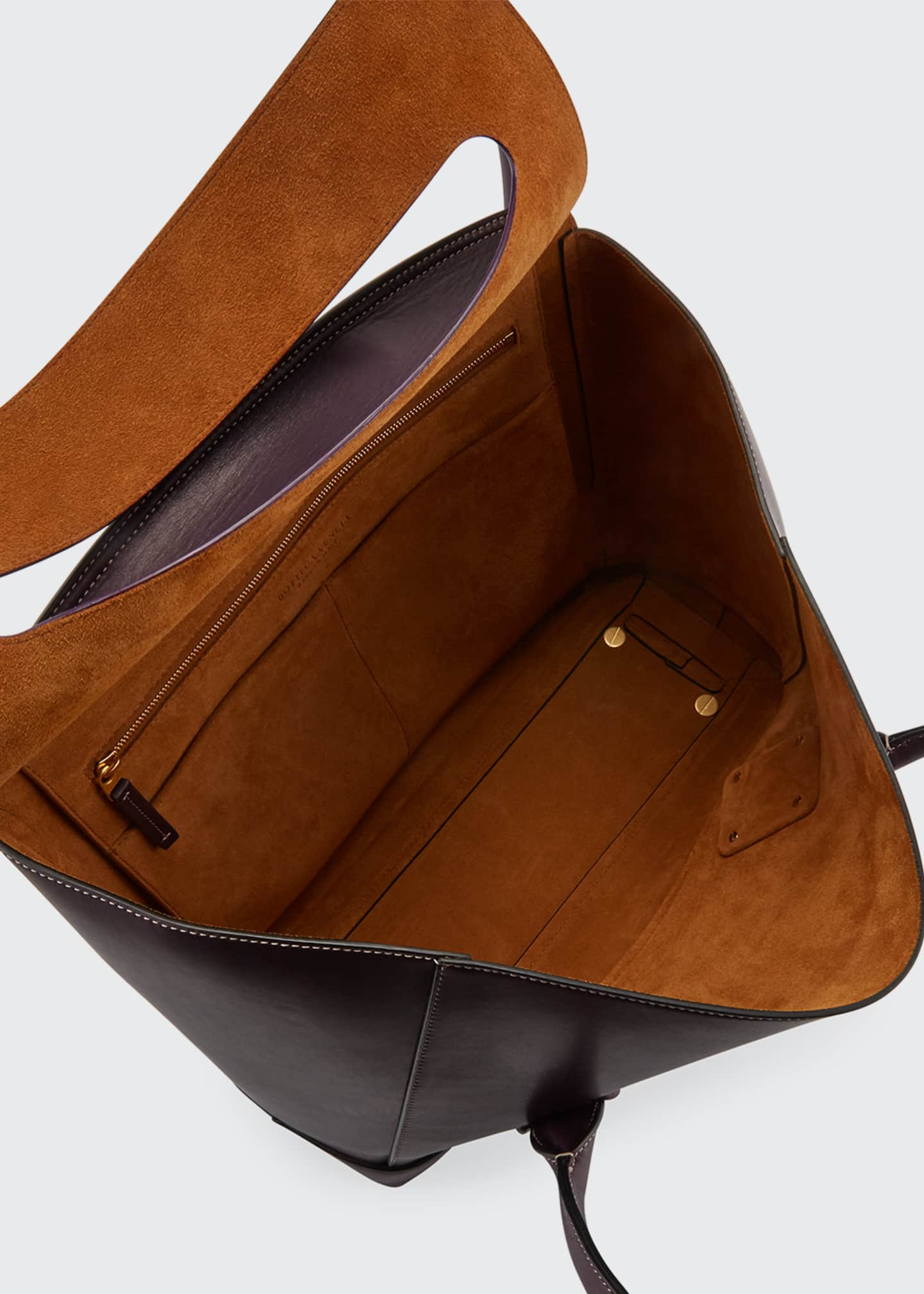 Image 2 of 2: Palmellato Large Leather Top Handle Bag