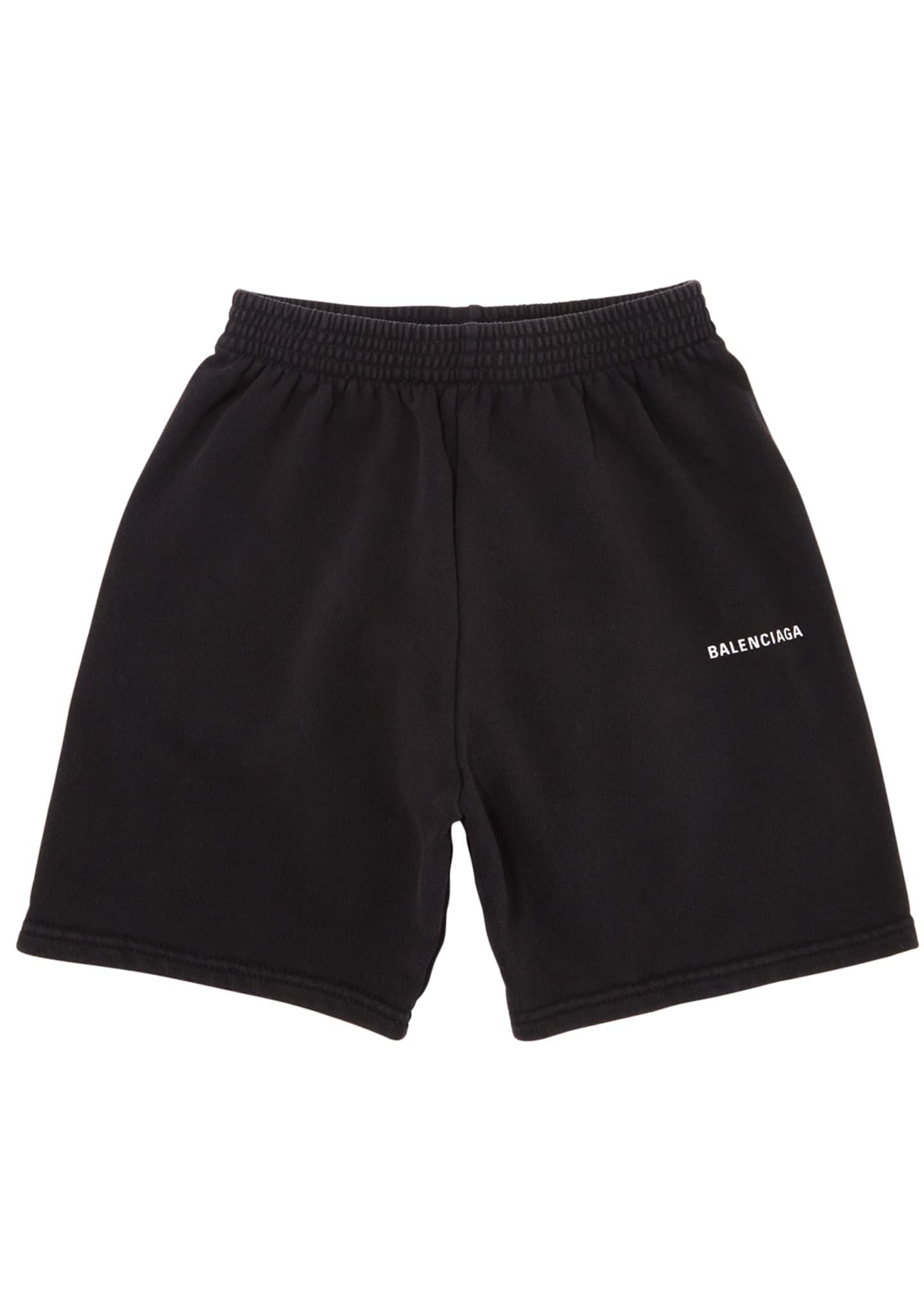 Balenciaga Kid's Jogging Shorts, Size 2-10