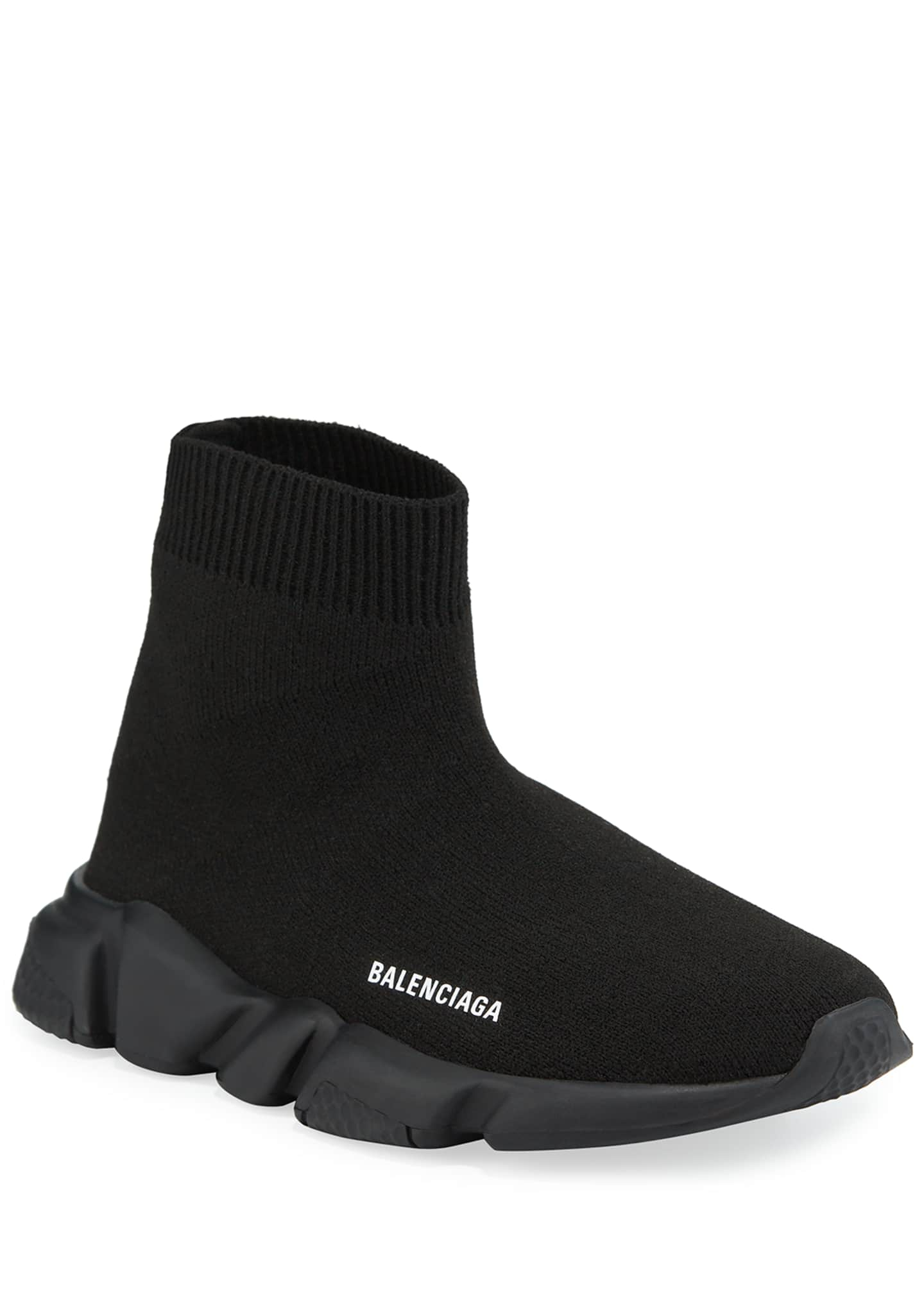 Balenciaga Speed Low-Top Trainer Sock Sneakers, Toddler/Kids