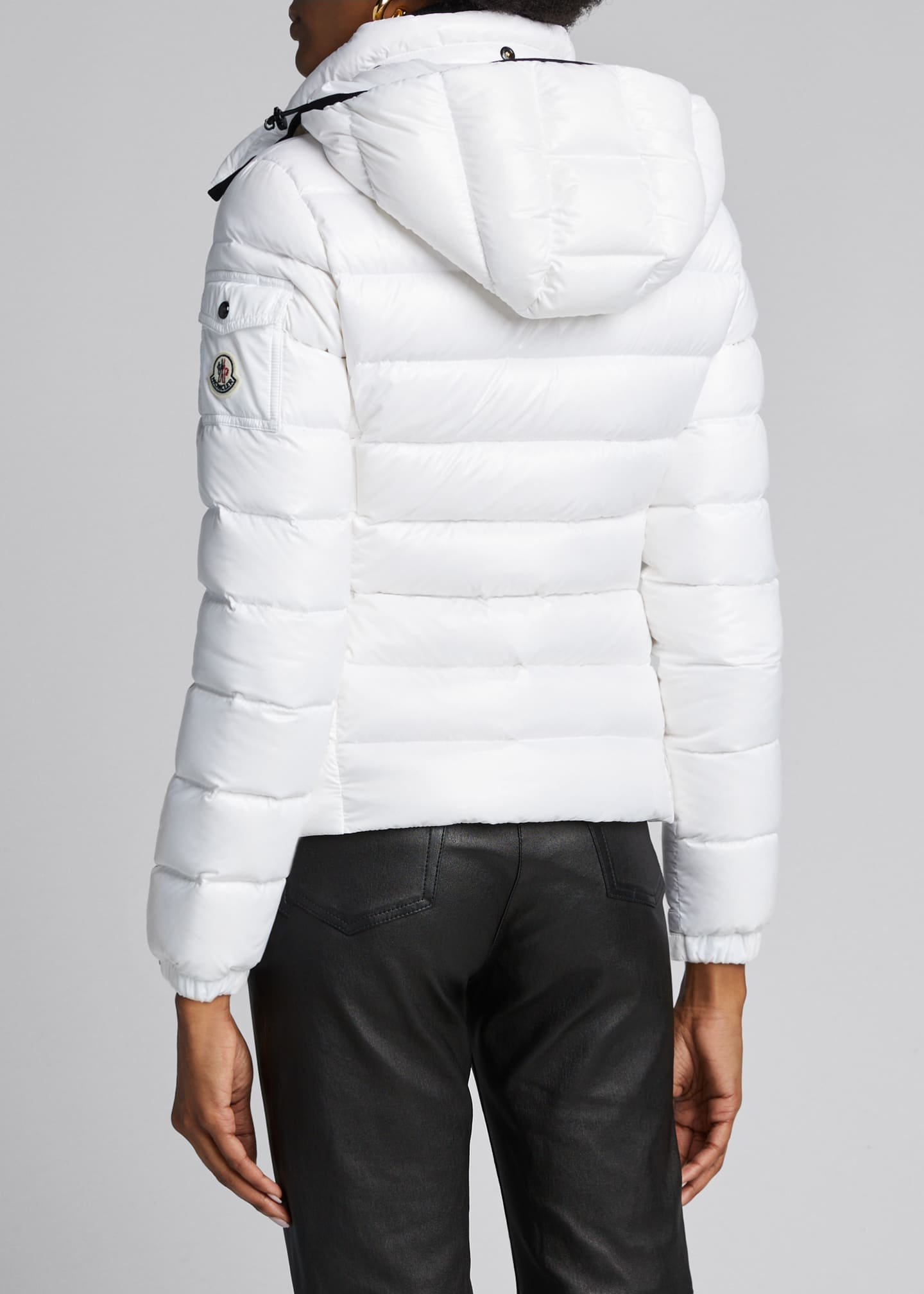 Image 2 of 5: Bady Hooded Puffer Coat