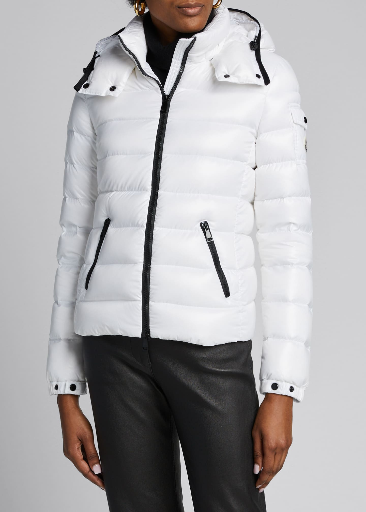 Image 3 of 5: Bady Hooded Puffer Coat