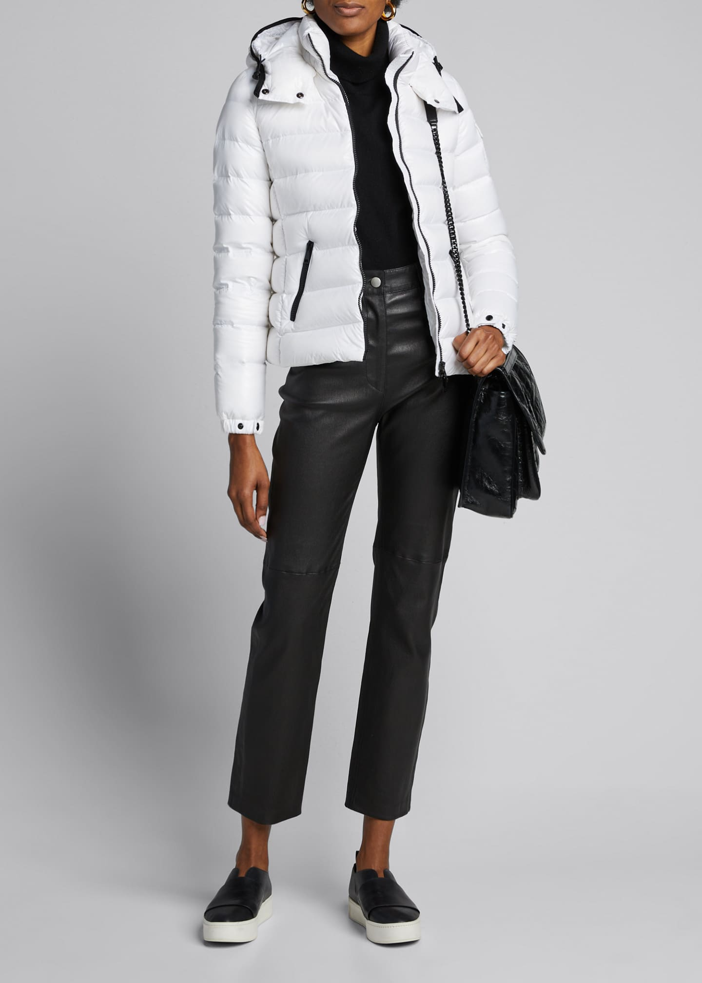 Image 1 of 5: Bady Hooded Puffer Coat