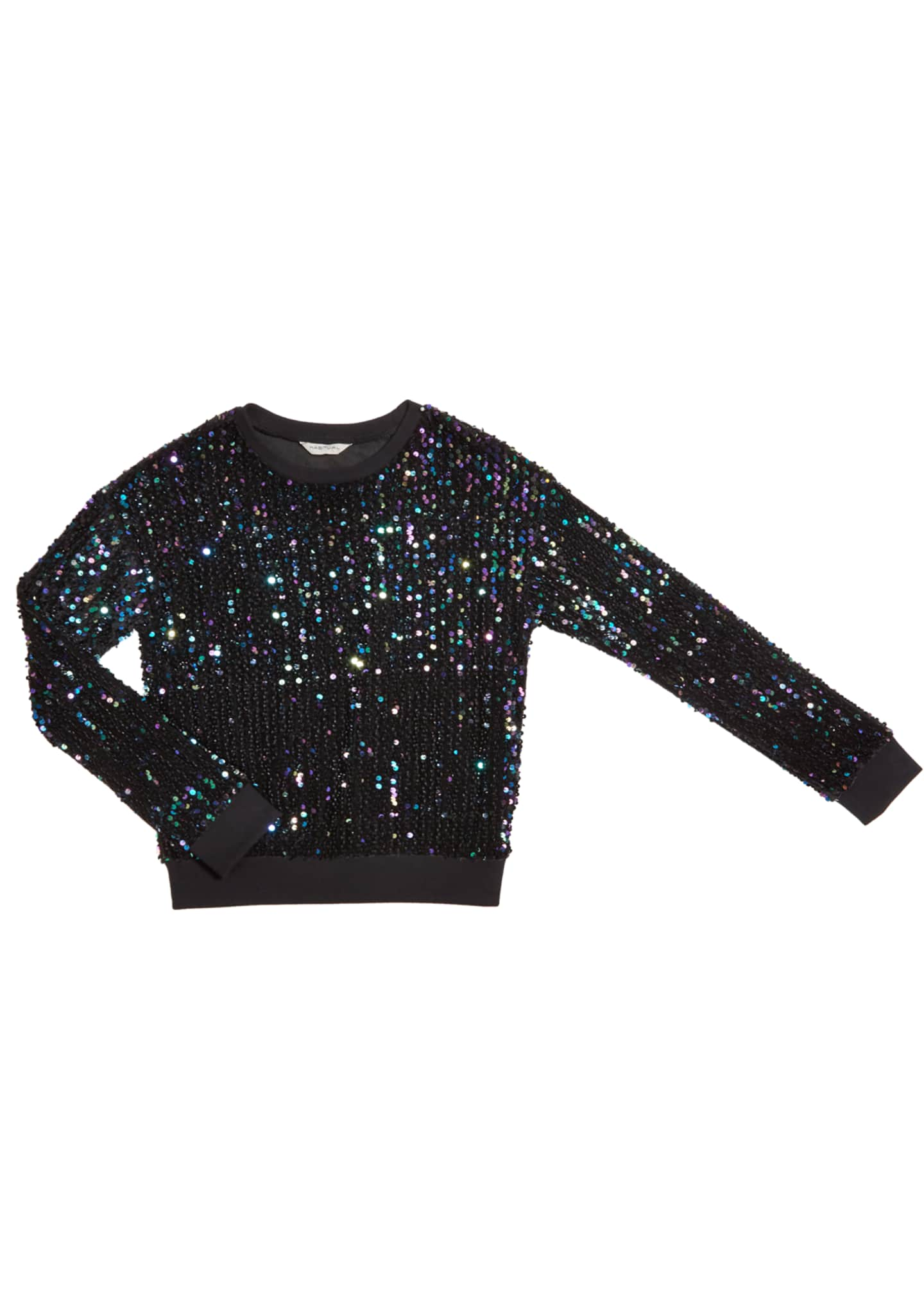 Habitual Ember Multi-Sequins Top, Size 7-14