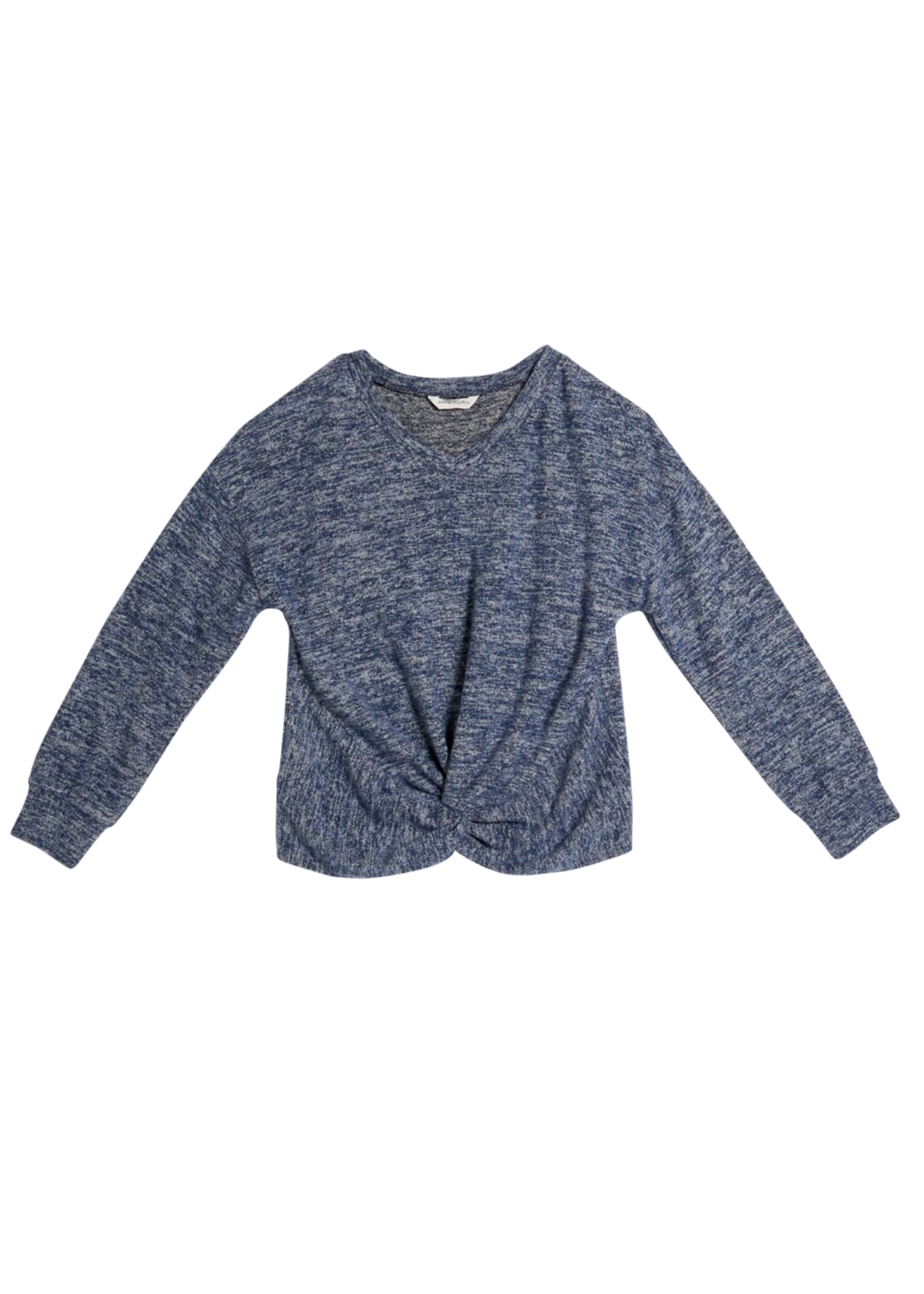 Habitual Kylie Hatchi Knit Twisted Top, Size 7-14
