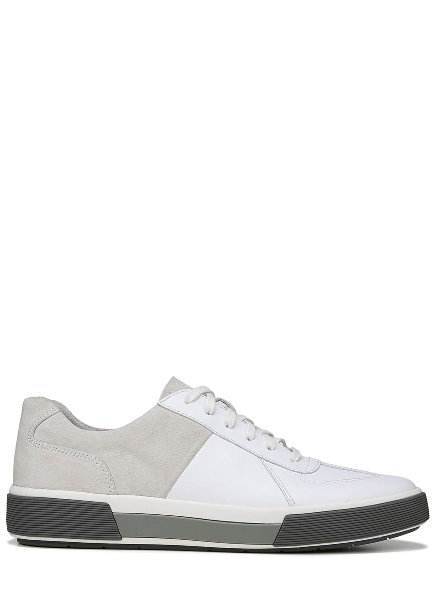 Image 2 of 5: Men's Rogue Suede & Leather Low-Top Sneakers
