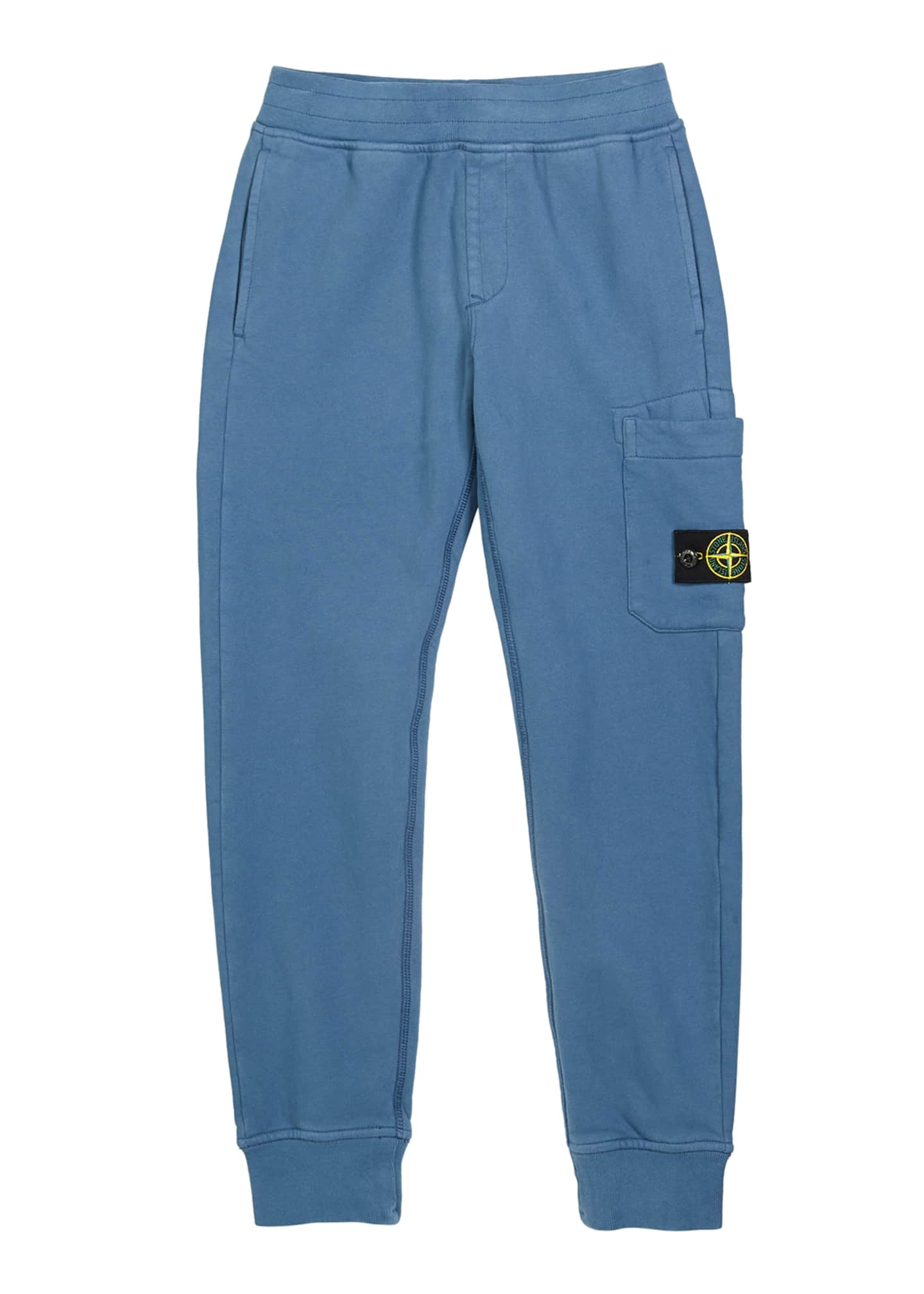Stone Island Boy's Sweatpants w/ Thigh Pocket &