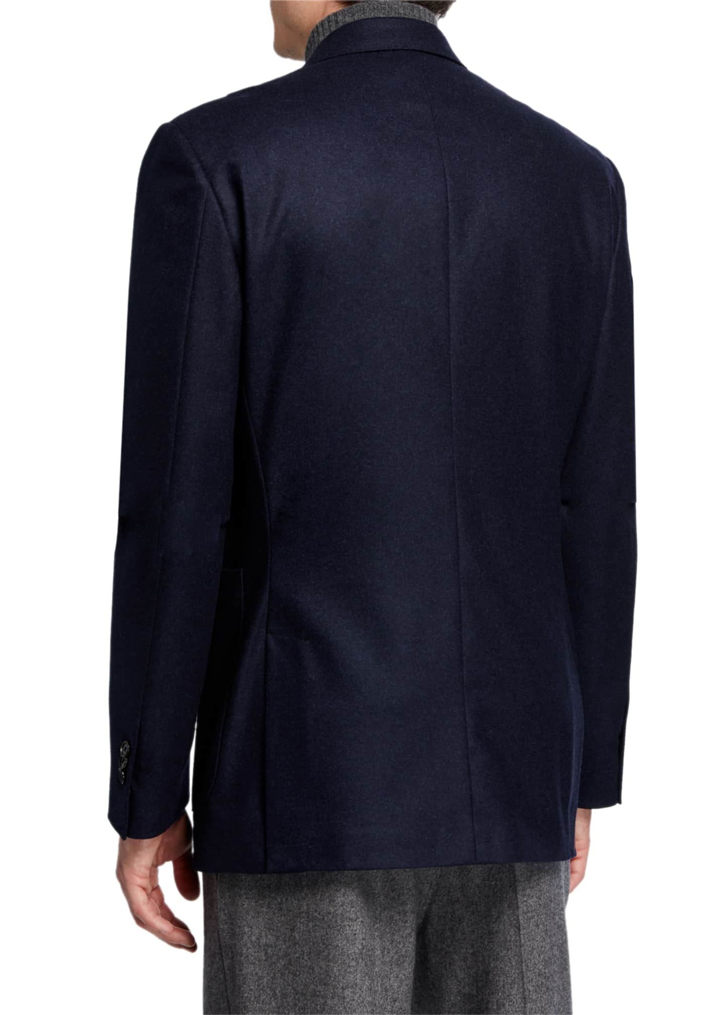 Image 2 of 3: Men's Havre Half-Lined Two-Button Jacket