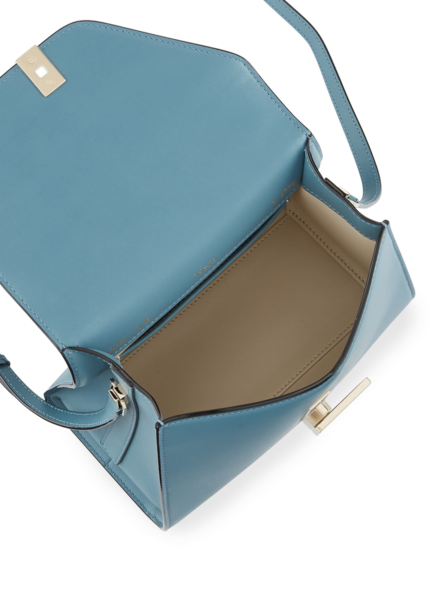 Image 2 of 3: Smooth Calf Mini Iside Top Handle Bag