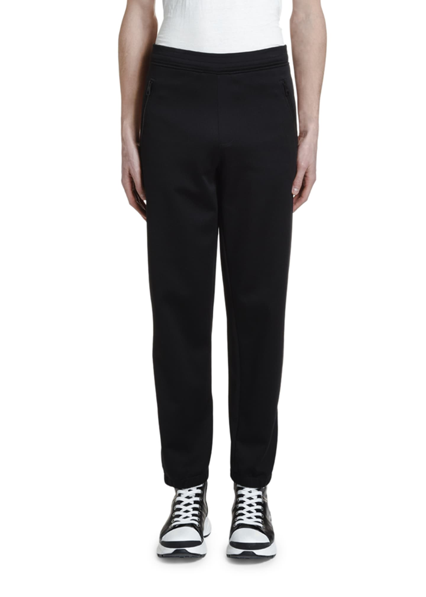 Image 1 of 2: Men's Double-Stripe Jogger Pants