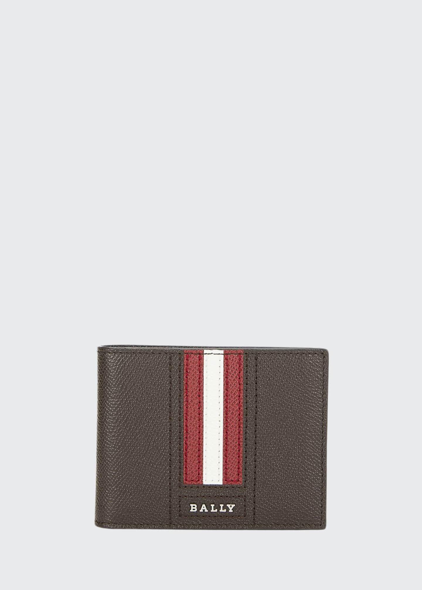 Bally Men's Tevye Trainspotting-Stripe Wallet