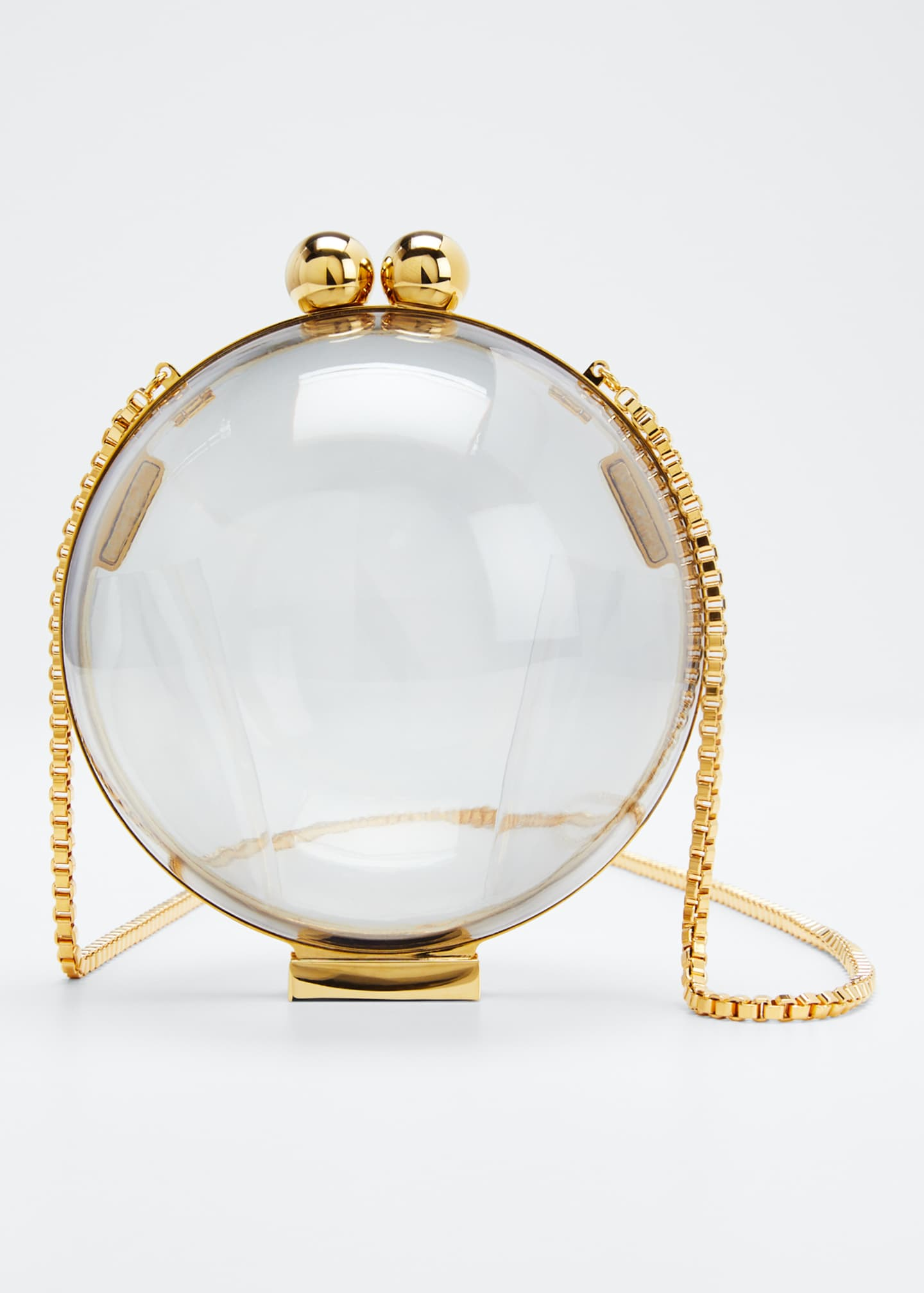 Marzook Lucid Classic Orb Minaudiere Clutch Bag