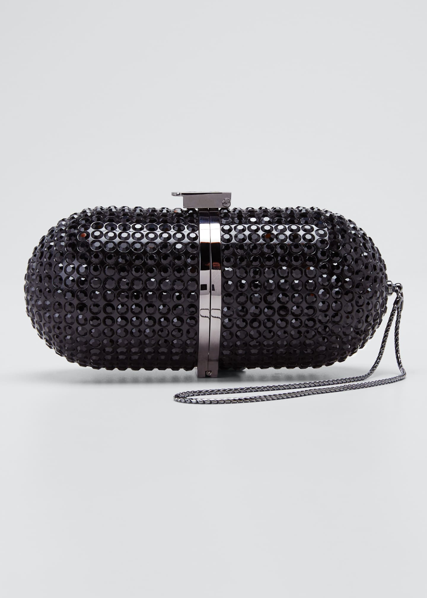 Marzook Crystal Framed Minaudiere Pill Bag