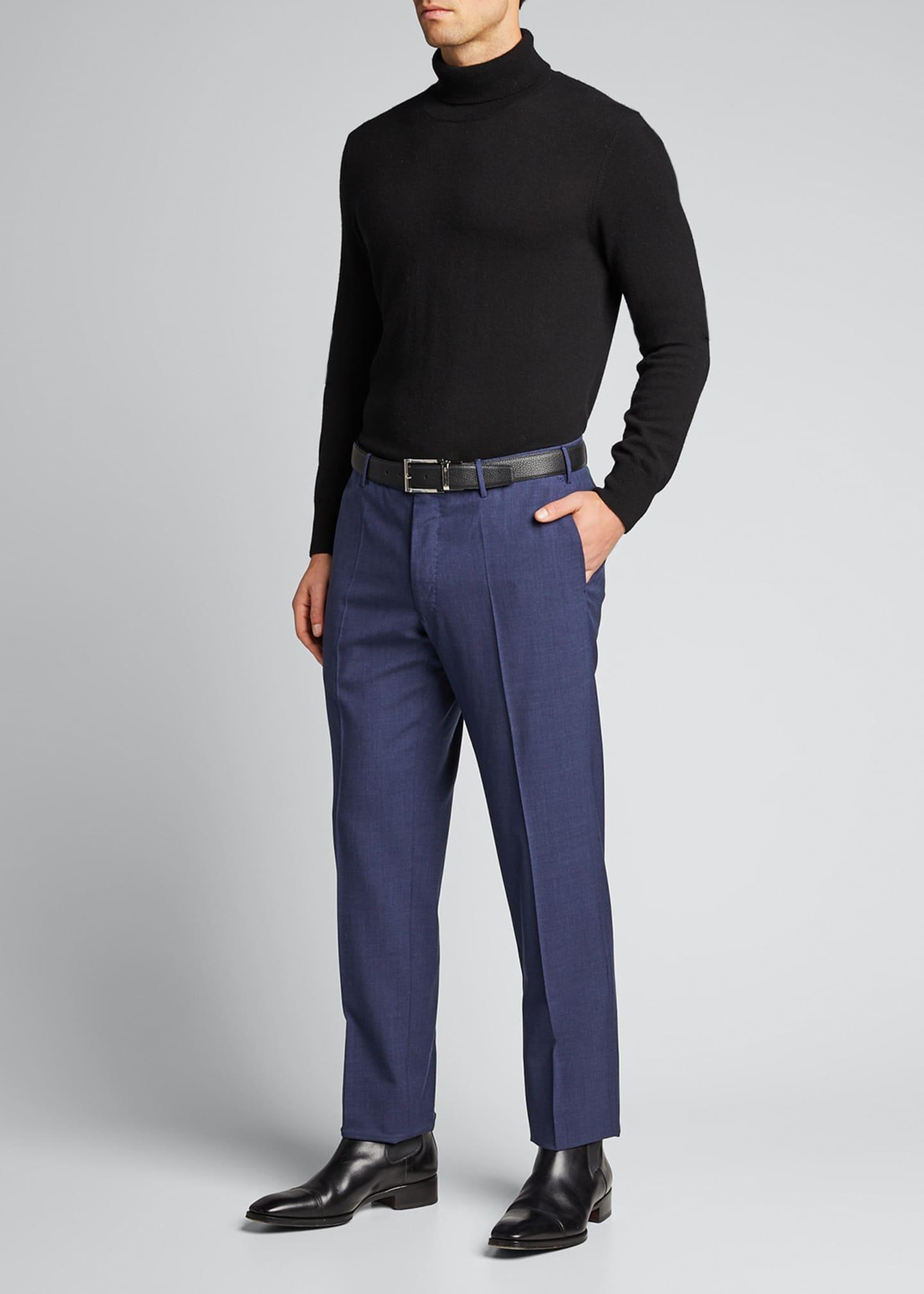 Incotex Men's Bi-Stretch Tech-Wool Pants