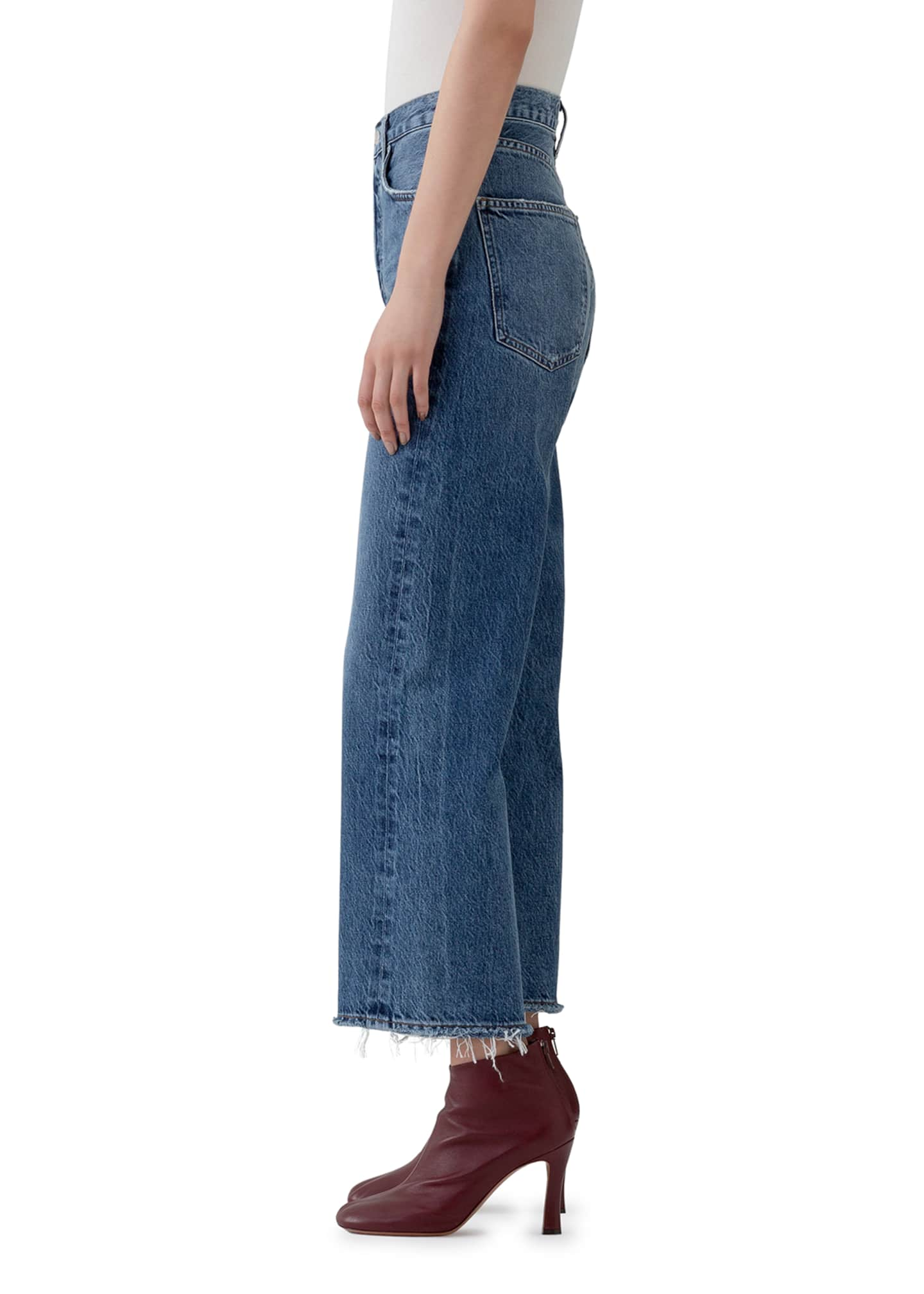 Image 2 of 3: Ren High-Rise Wide-Leg Jeans