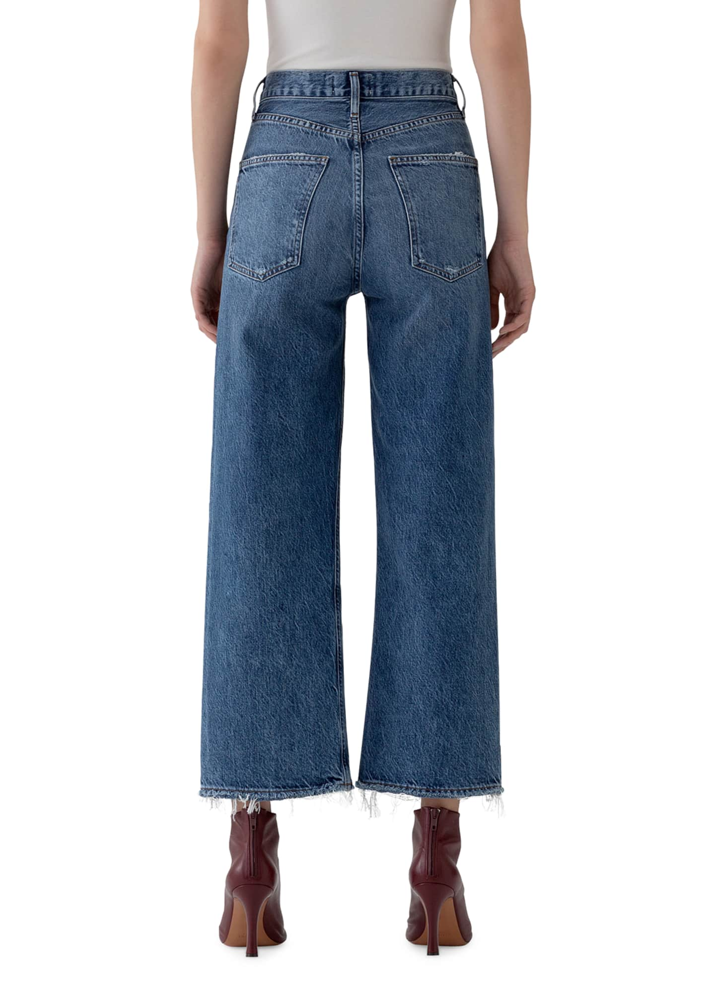 Image 3 of 3: Ren High-Rise Wide-Leg Jeans