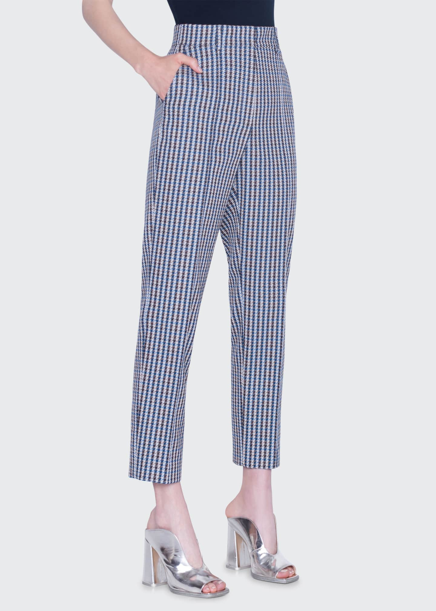 Akris punto Ferry Houndstooth Pants