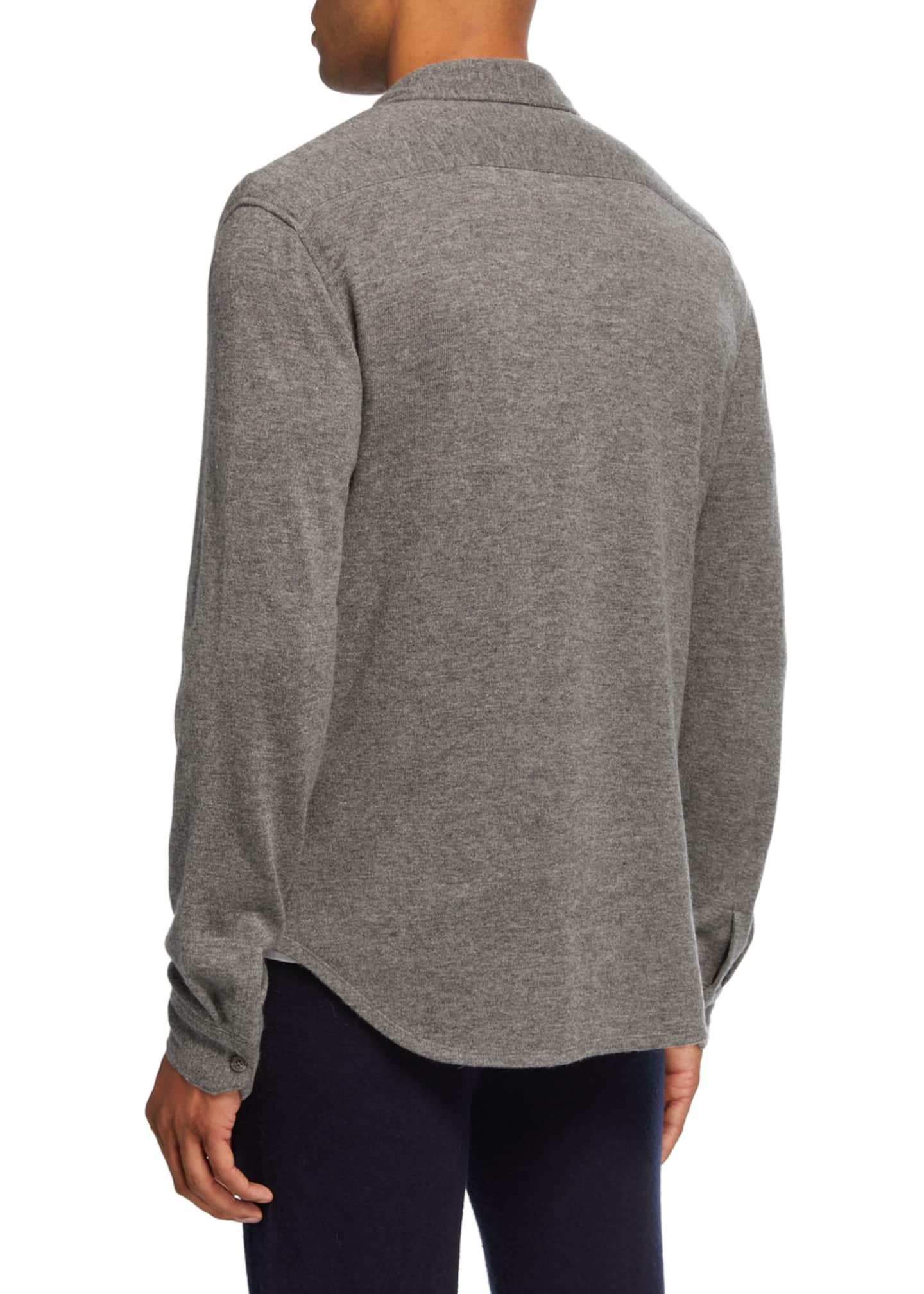 Image 2 of 2: Men's Cashmere Sport Shirt
