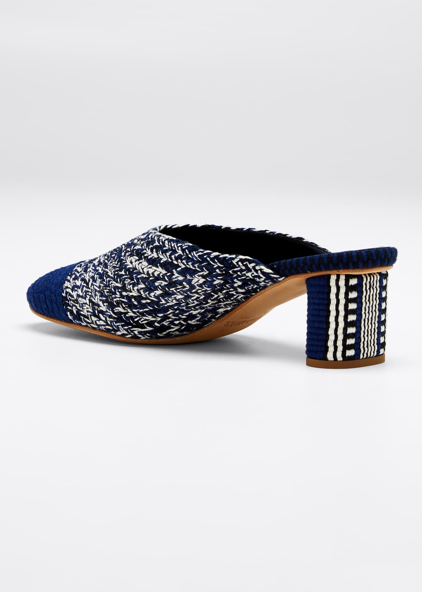 Image 2 of 3: Dorina Woven Mules