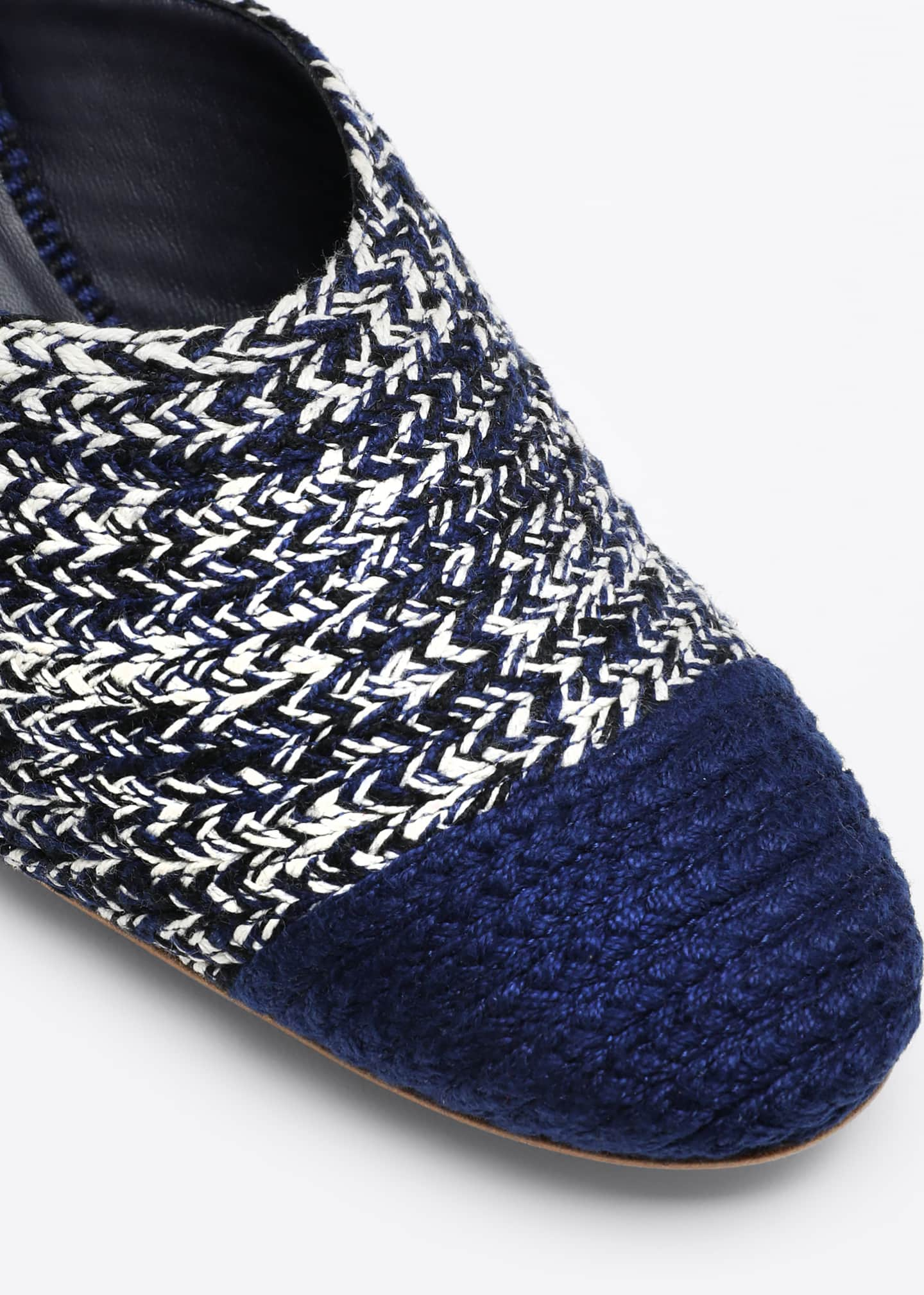 Image 3 of 3: Dorina Woven Mules