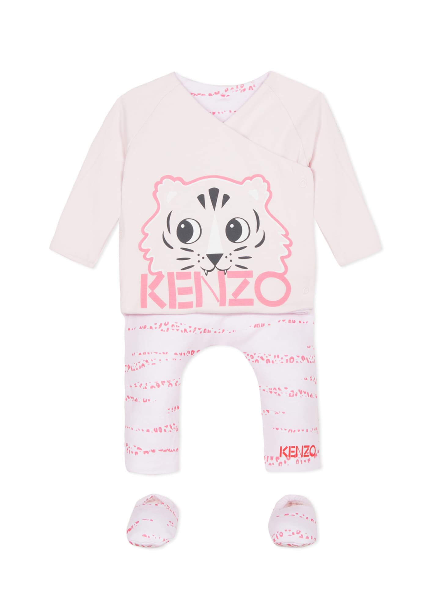 Kenzo Reversible Top w/ Matching Leggings & Booties,