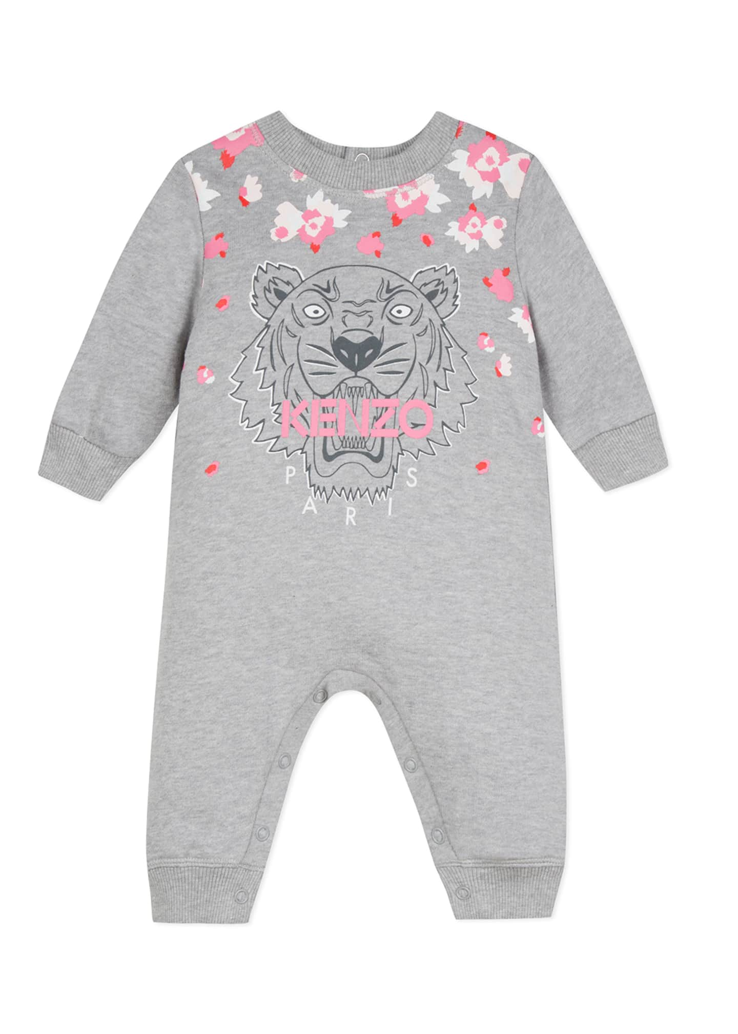 Kenzo Tiger & Flower Graphic Coverall, Size 6-18