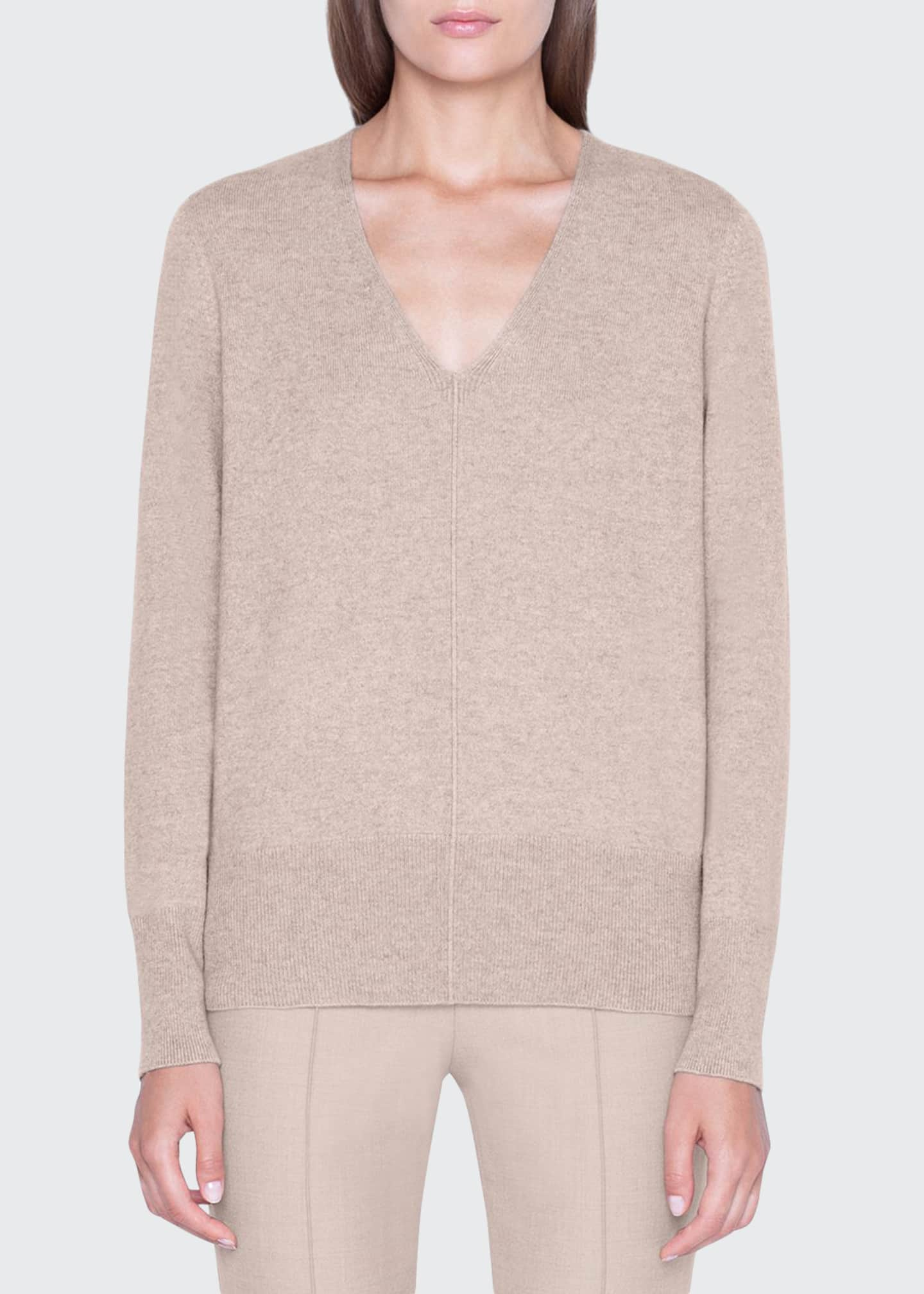 Akris Cashmere V-Neck Sweater