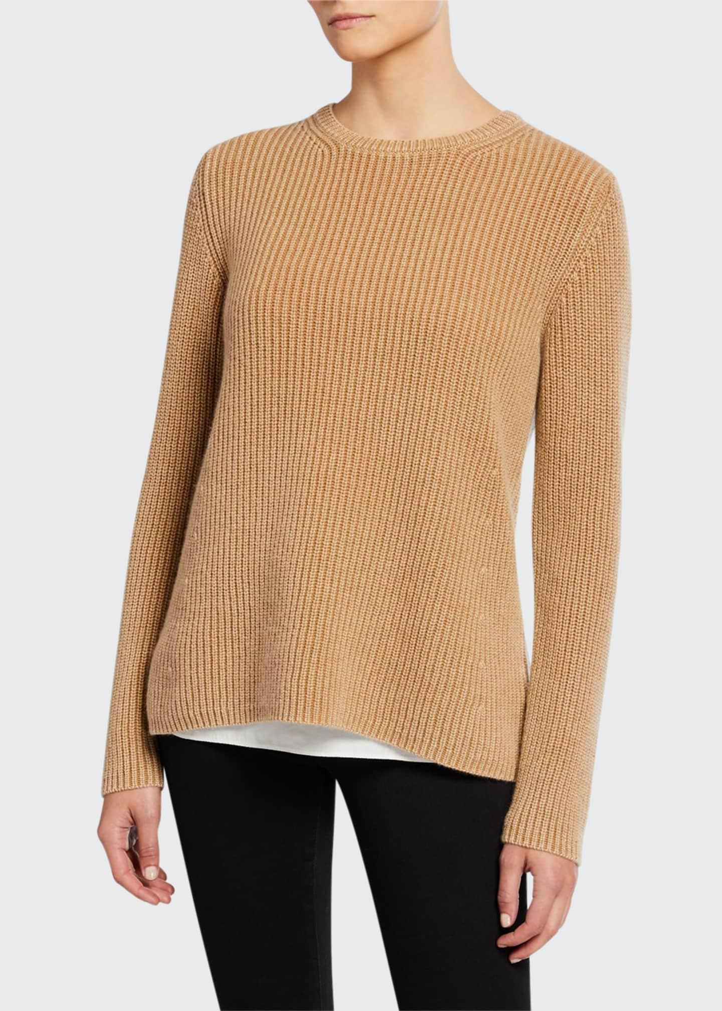 Iris Von Arnim Sessanio Crewneck Stonewashed Cashmere Sweater