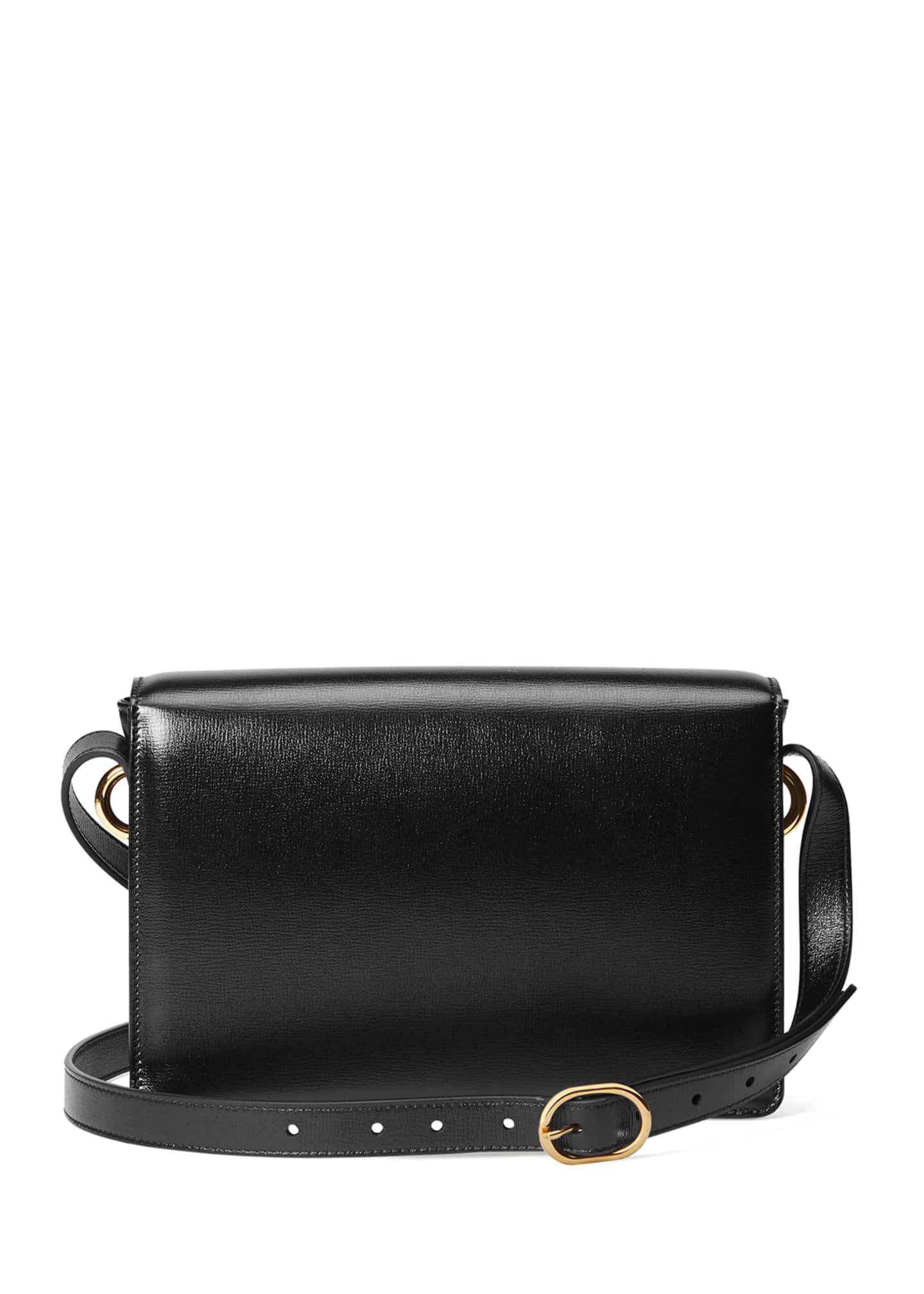 Image 4 of 4: GG Ring Small Leather Crossbody Bag