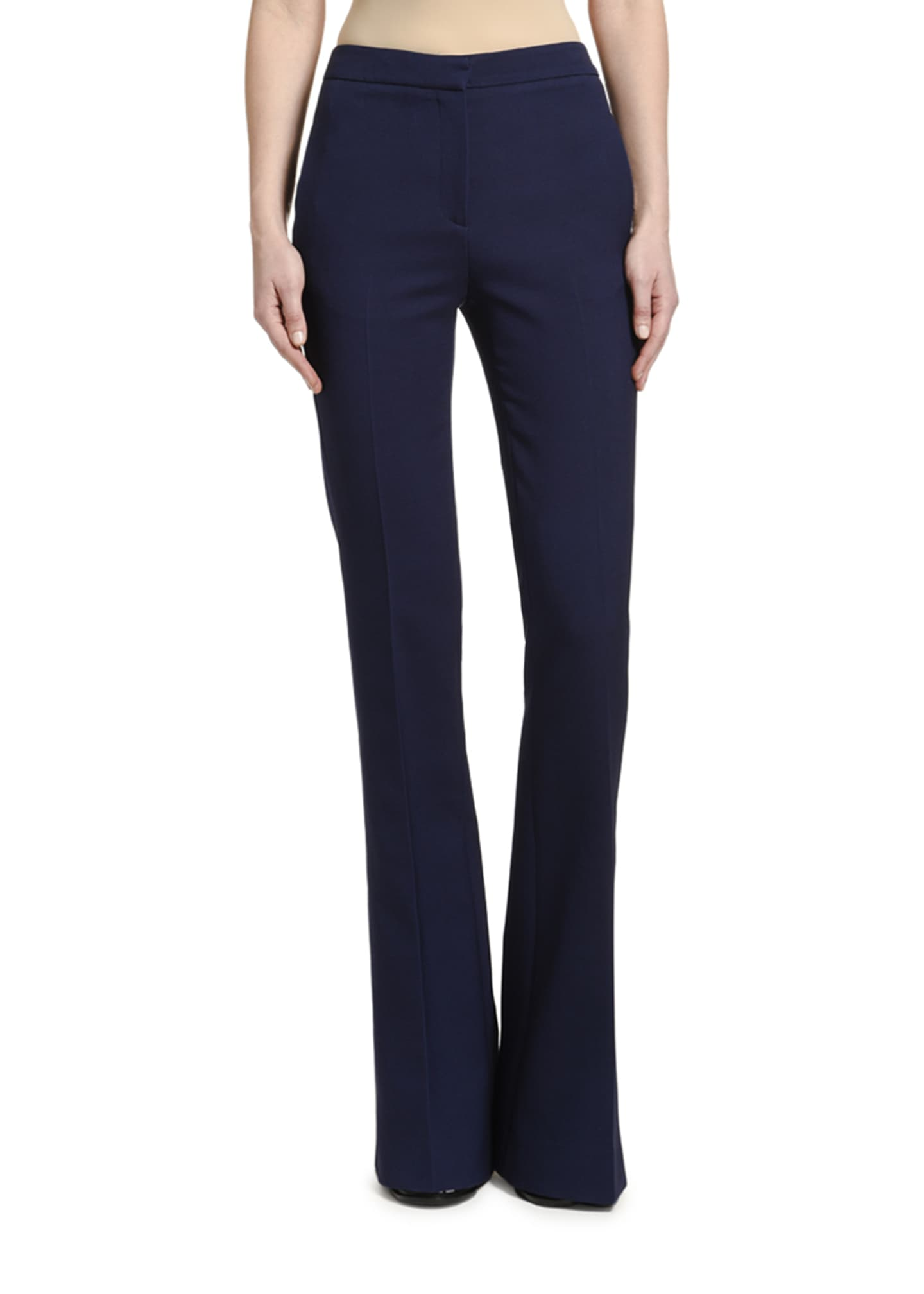 Tuxedo Flare Leg Jeans by Alexander Mc Queen