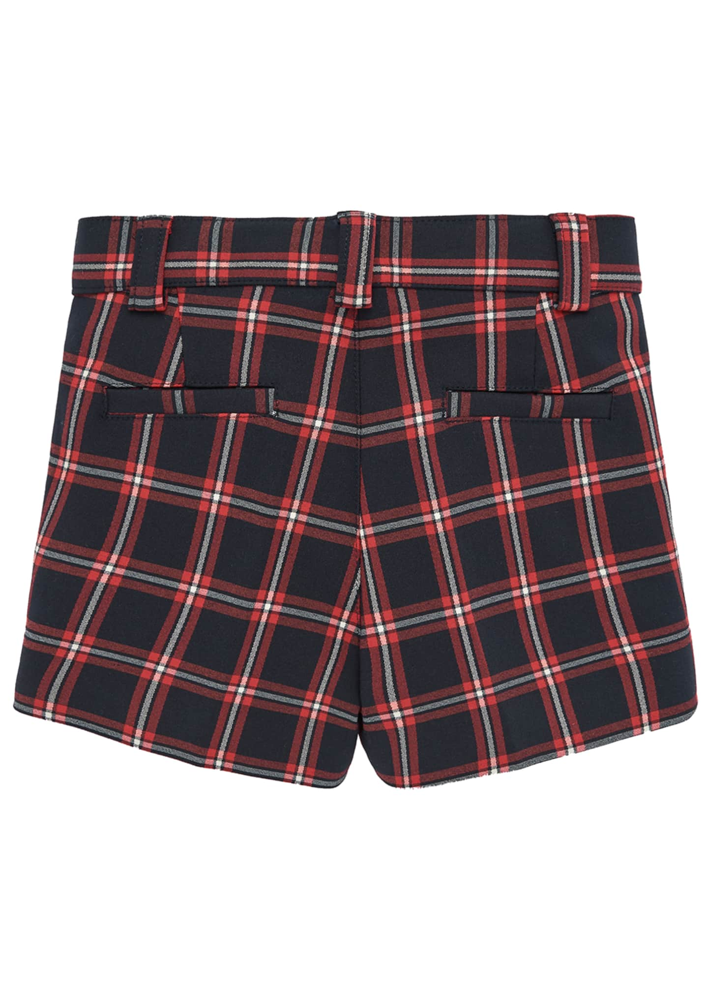Image 2 of 3: Boy's Check Shorts, Size 2-4