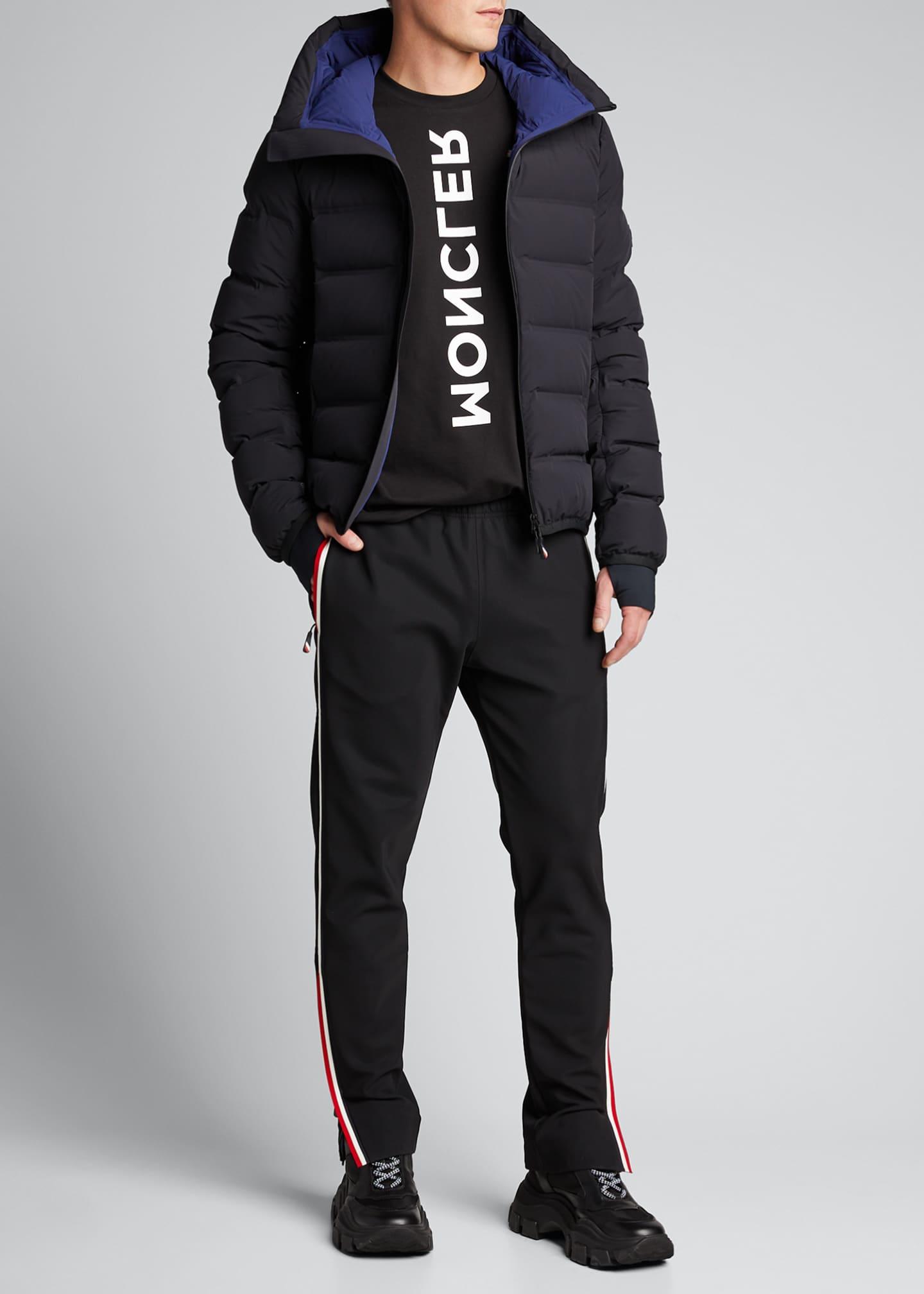 Moncler Men's Lagorai Hooded Puffer Jacket