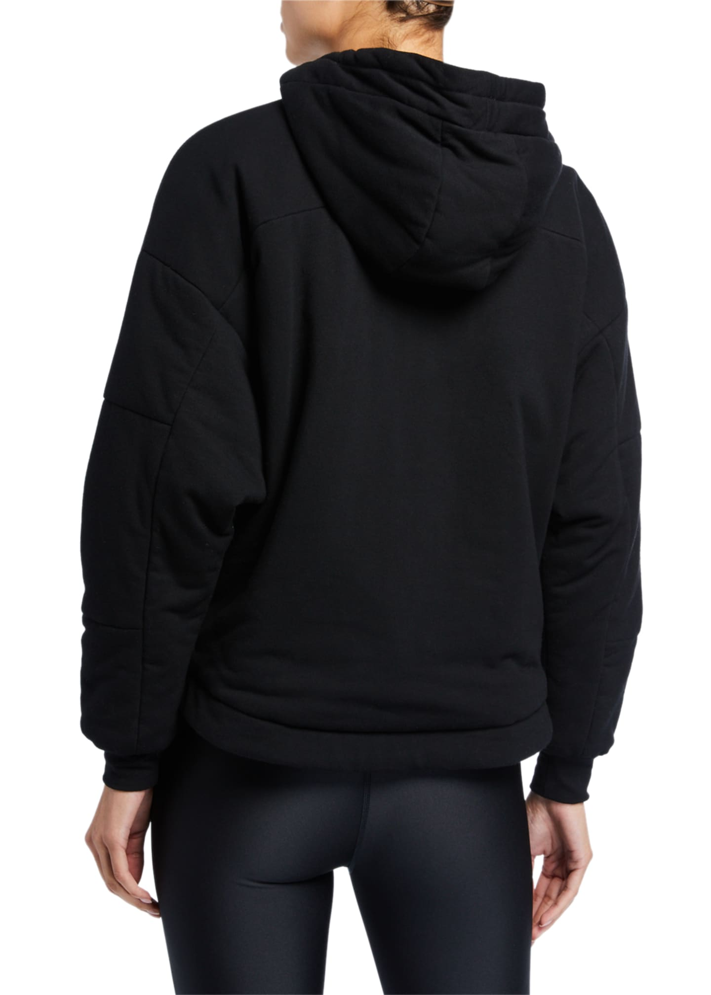 Image 2 of 2: Thin Down Pullover Hoodie