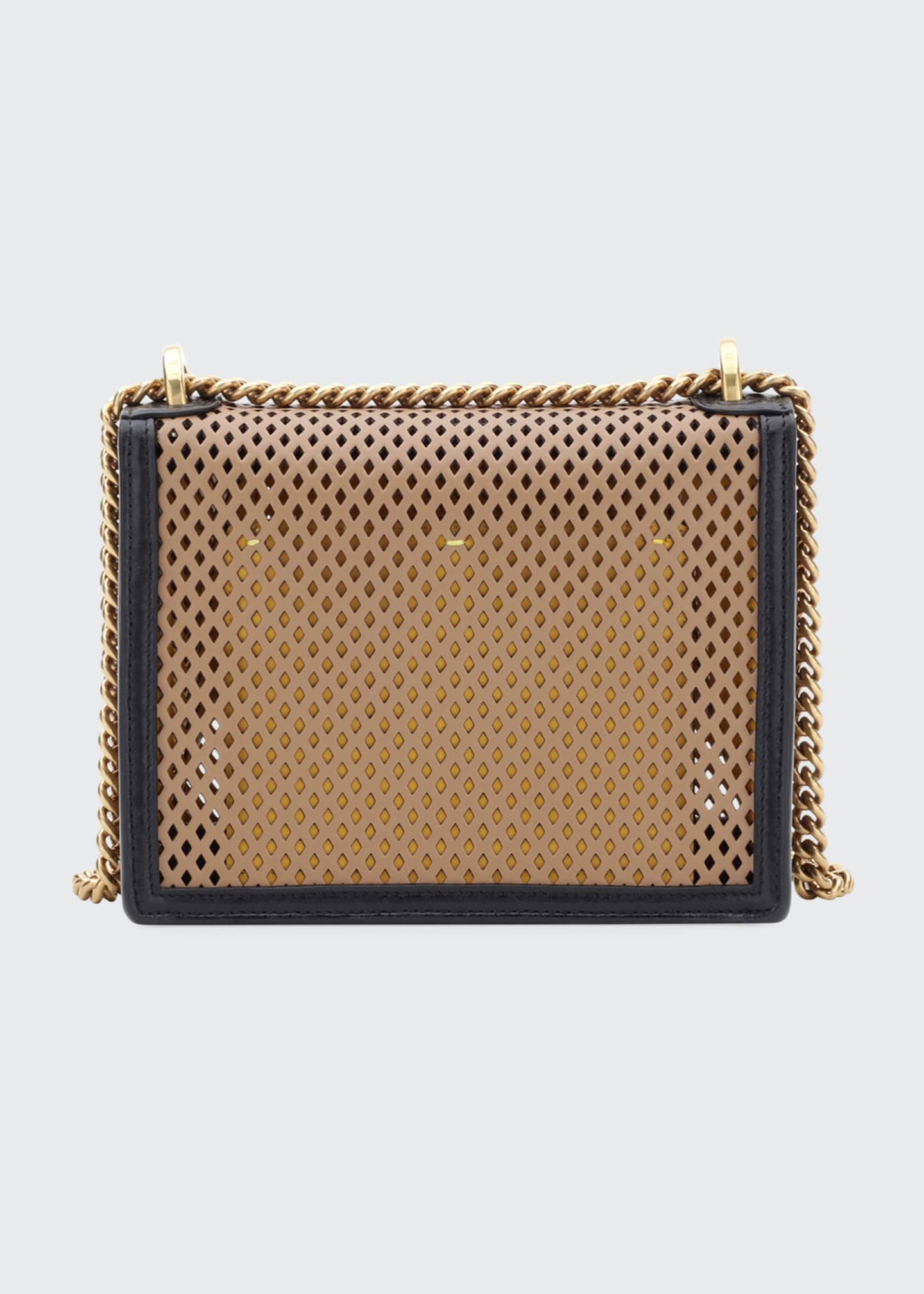 Image 2 of 4: Kan U Small Perforated Leather Crossbody Bag