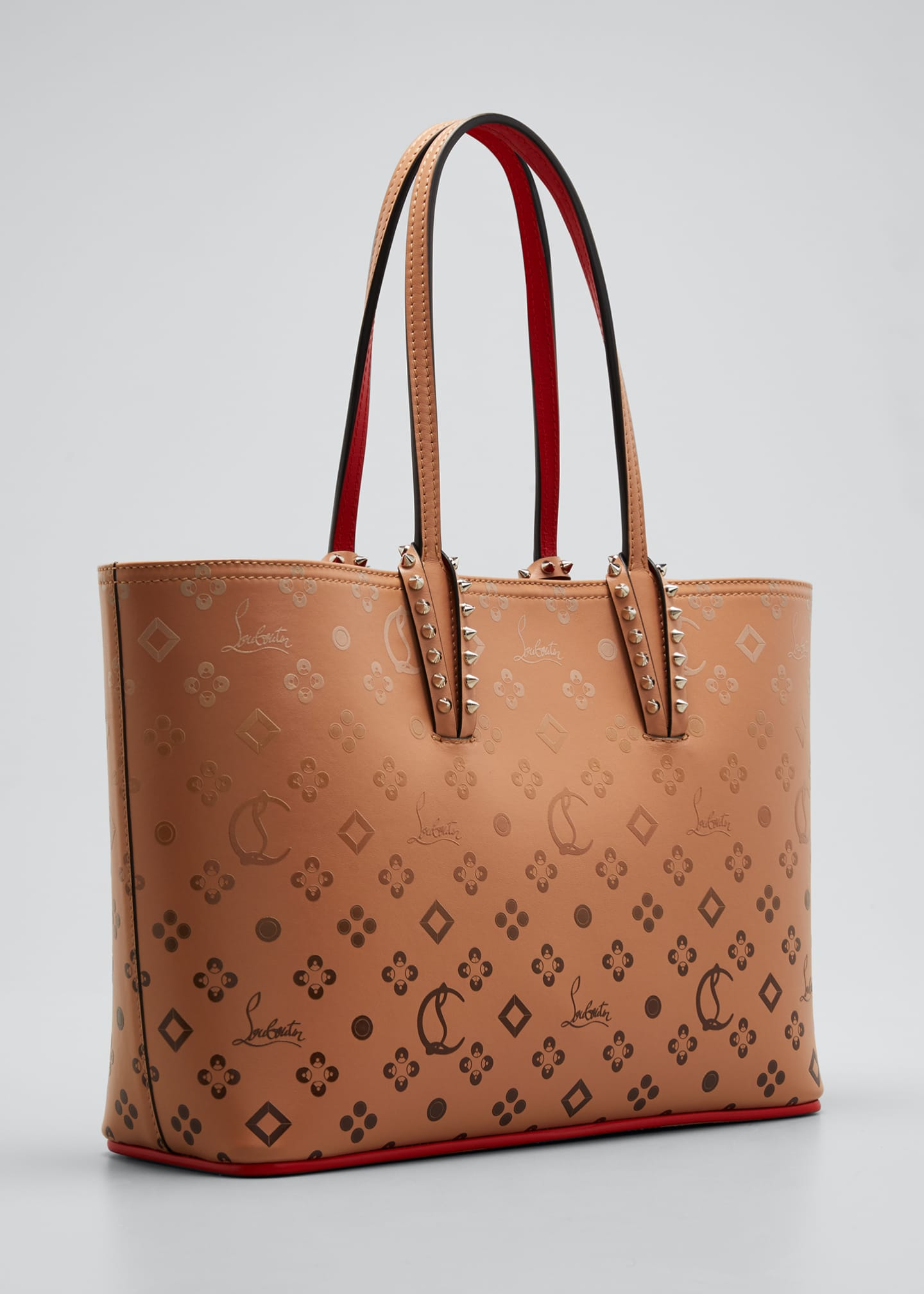 Image 3 of 5: Cabata Small Calf P Loubinthesky Gradient Tote Bag