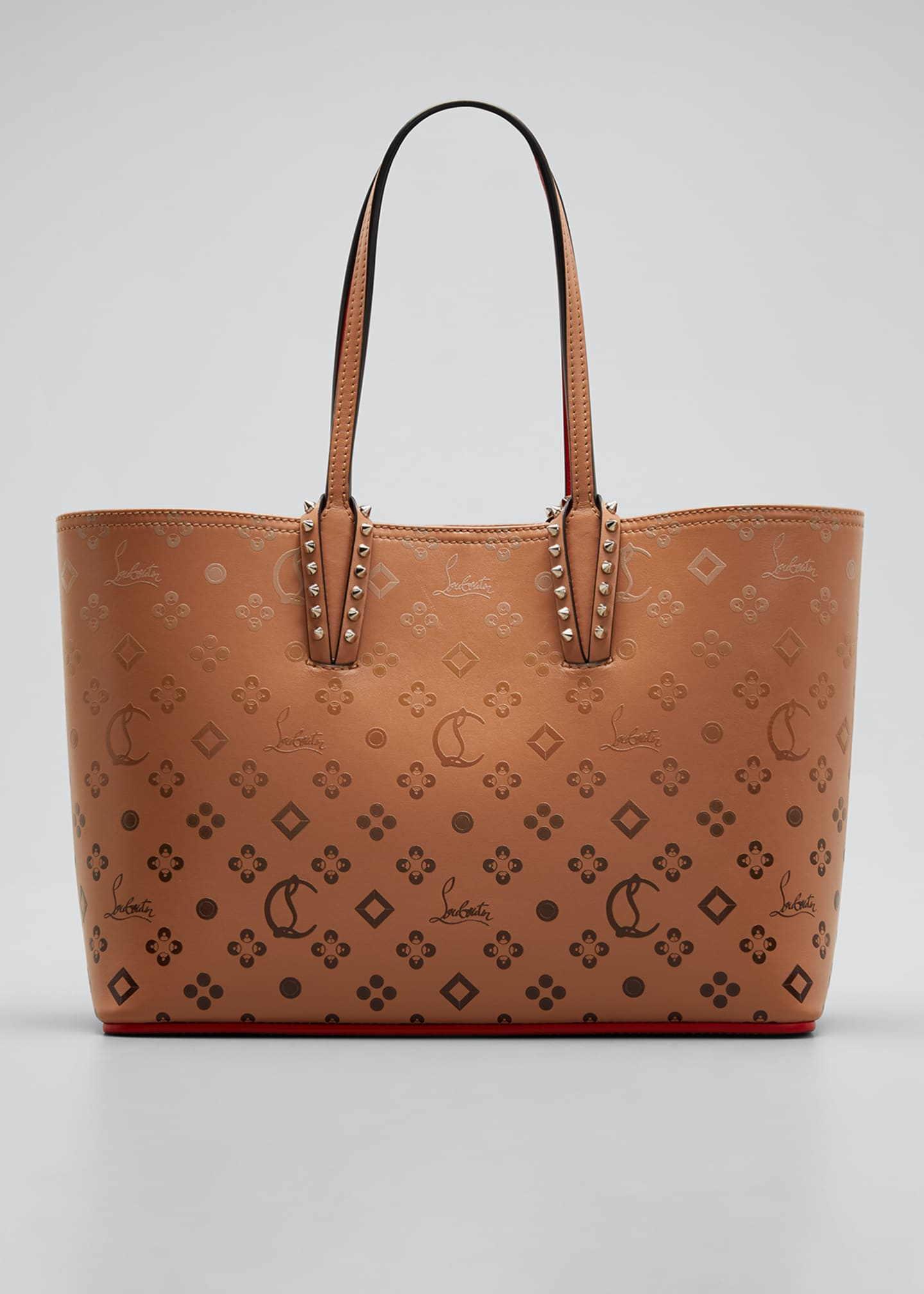 Image 1 of 5: Cabata Small Calf P Loubinthesky Gradient Tote Bag