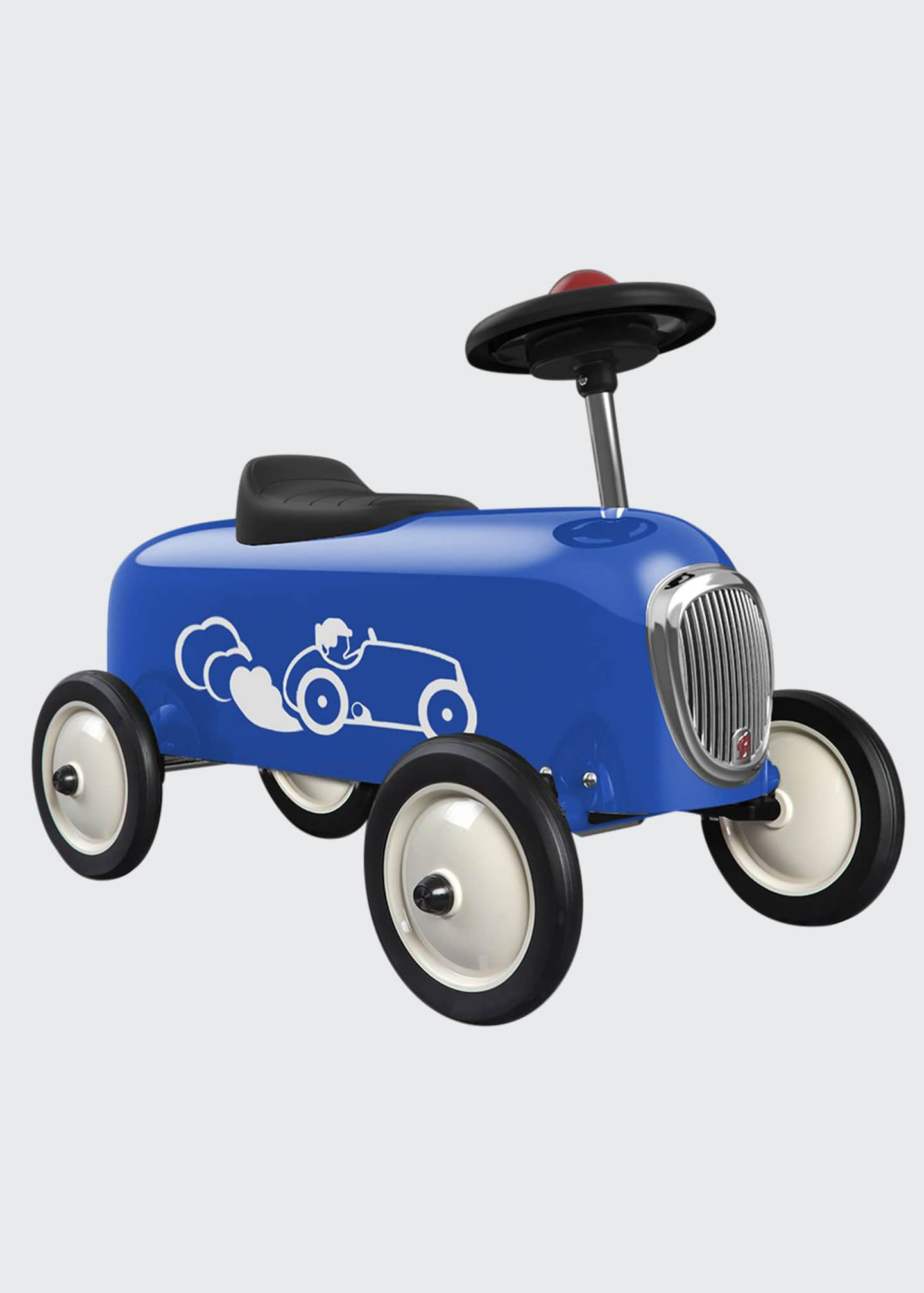 Baghera Blue Metal Ride-On Racer