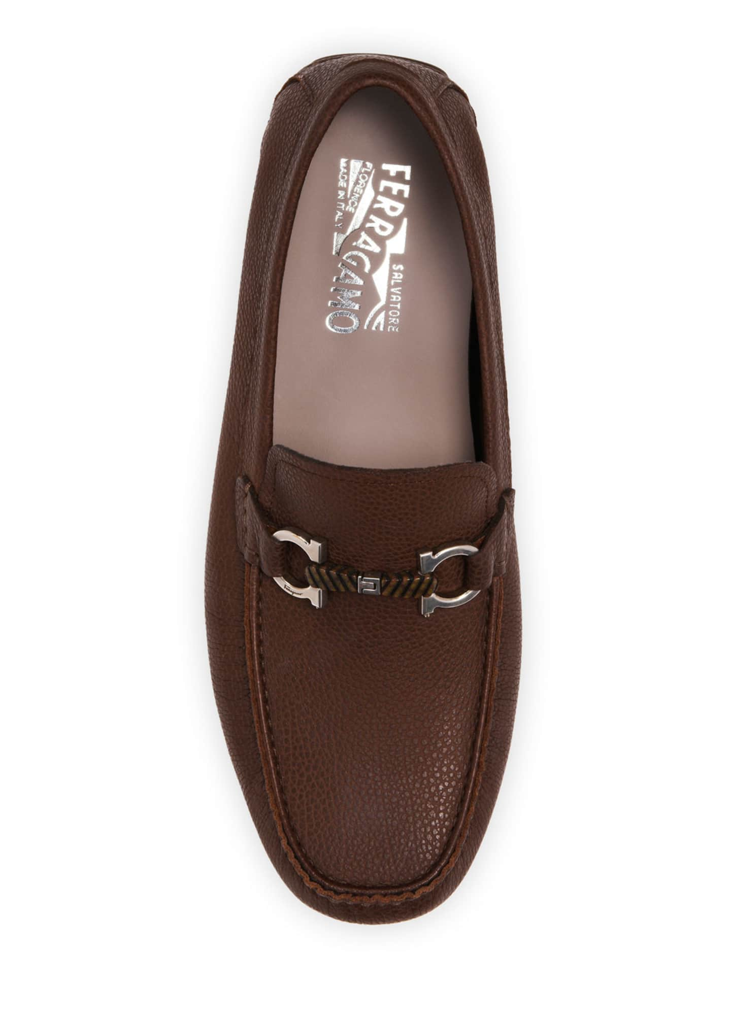 Image 2 of 4: Men's Salamanca 2 Leather Wood-Bit Drivers