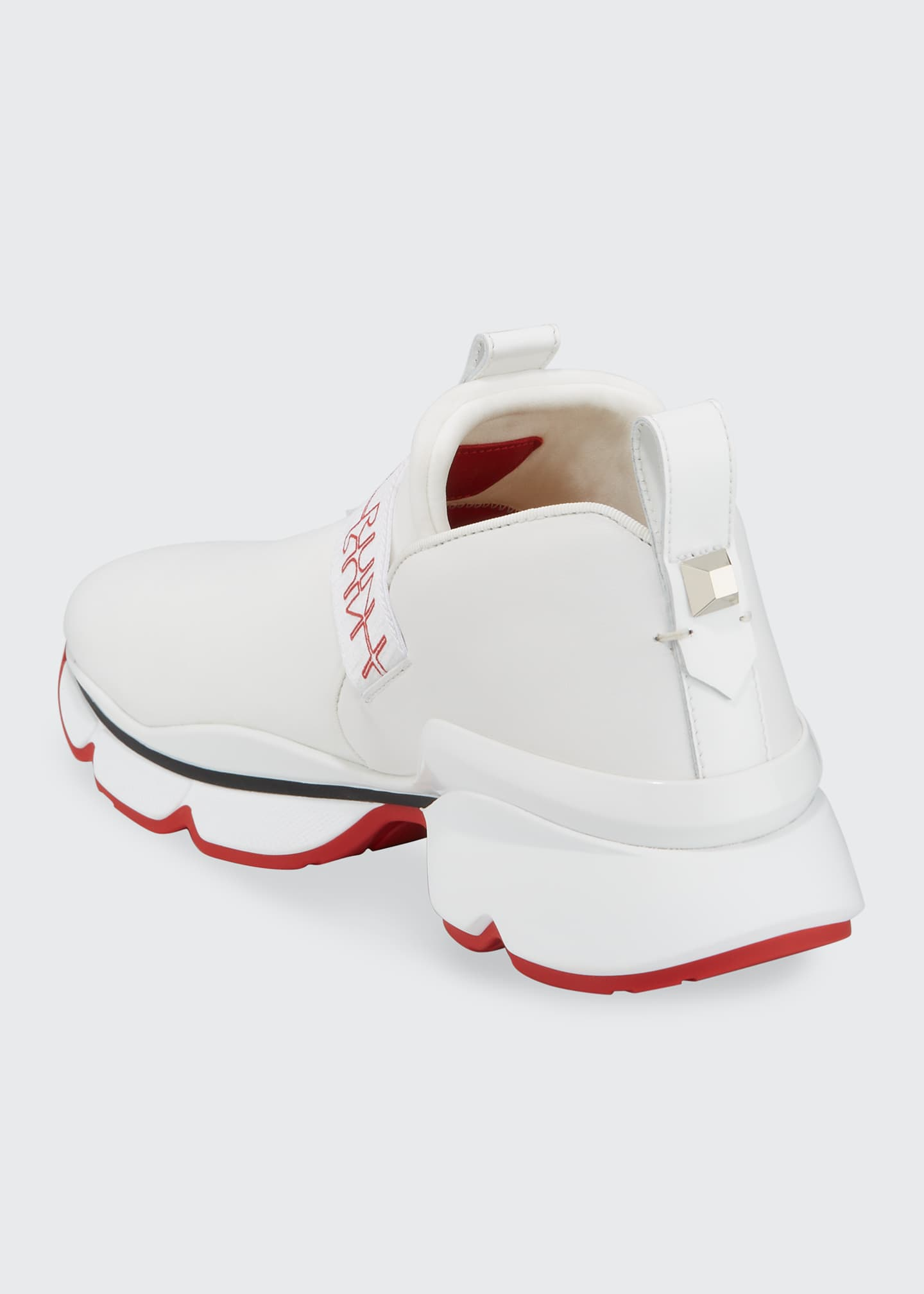 Image 3 of 4: Lipsy Run Flats Red Sole Sneakers