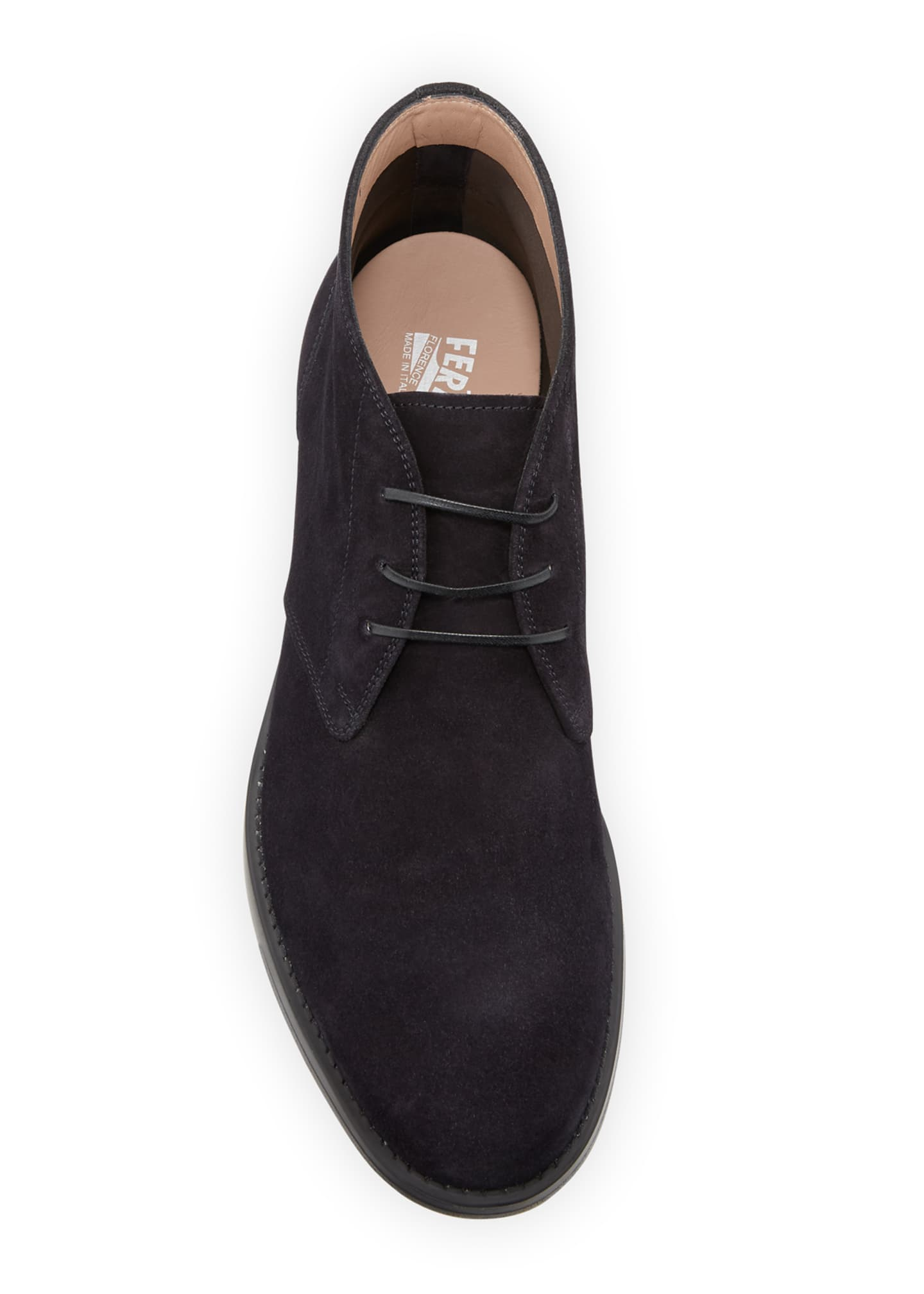 Image 2 of 3: Men's Sachie-2 Lightweight Suede Chukka Boots