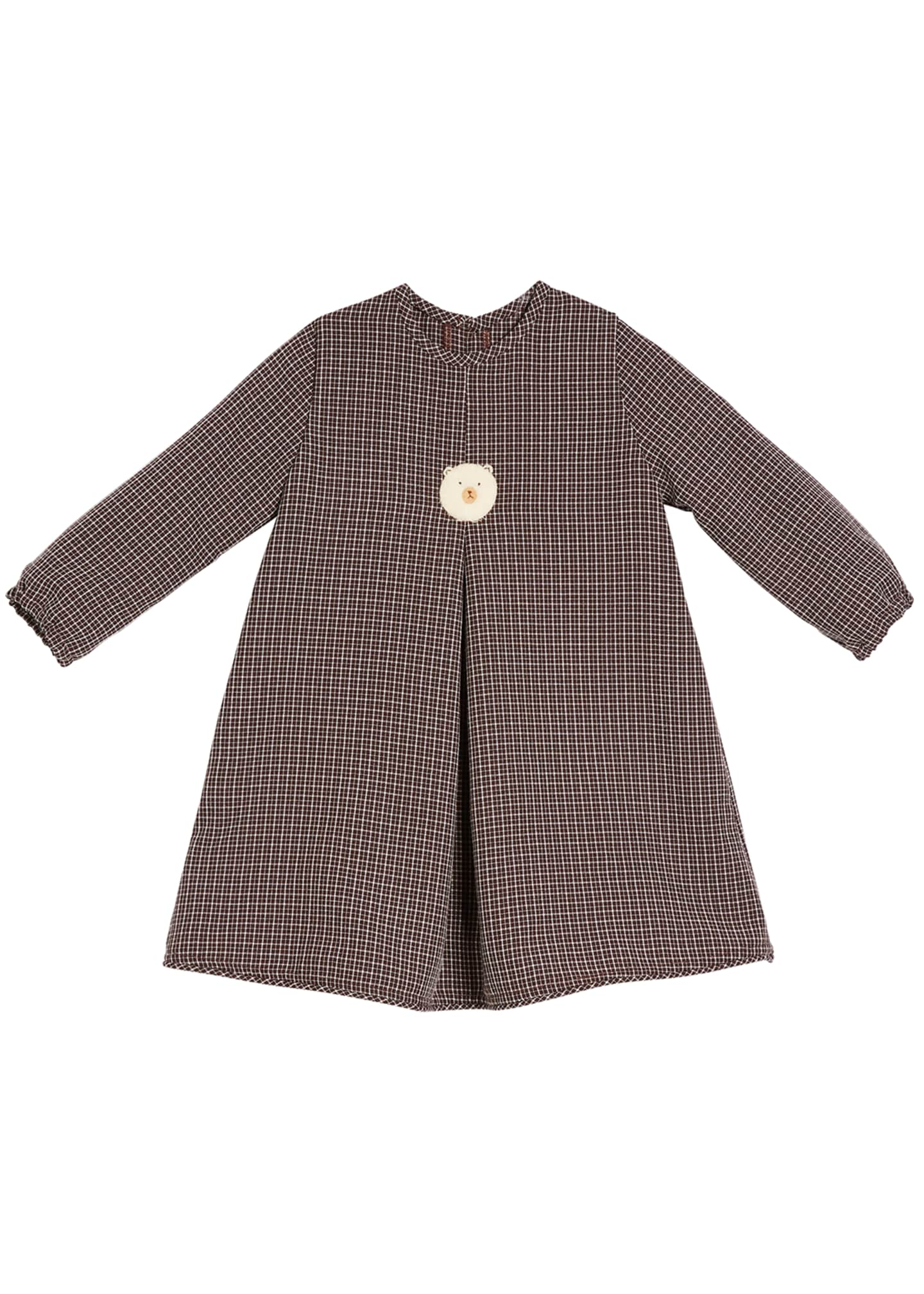 Isabel Garreton Girls' Felted Bear Dress, Size 2T-6